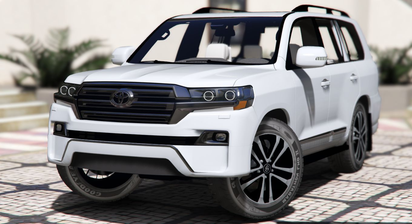 2016 toyota land cruiser vxr gta5. Black Bedroom Furniture Sets. Home Design Ideas