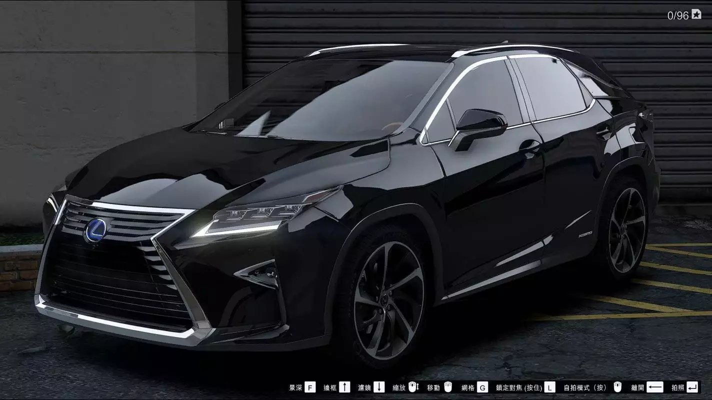 2016 lexus rx 450h add on replace final gta5. Black Bedroom Furniture Sets. Home Design Ideas