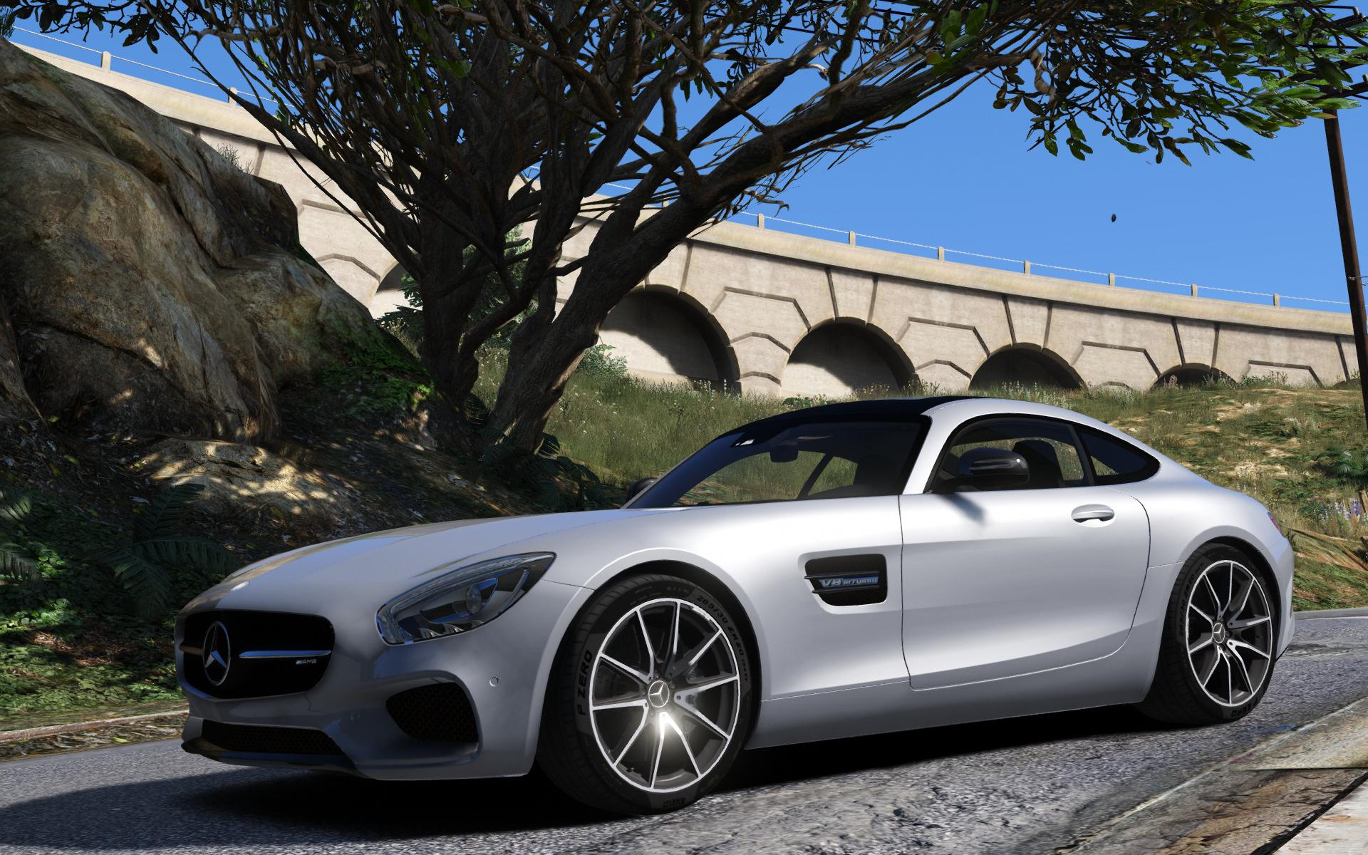 2016 mercedes benz amg gt add on gta5 for Mercedes benz gta