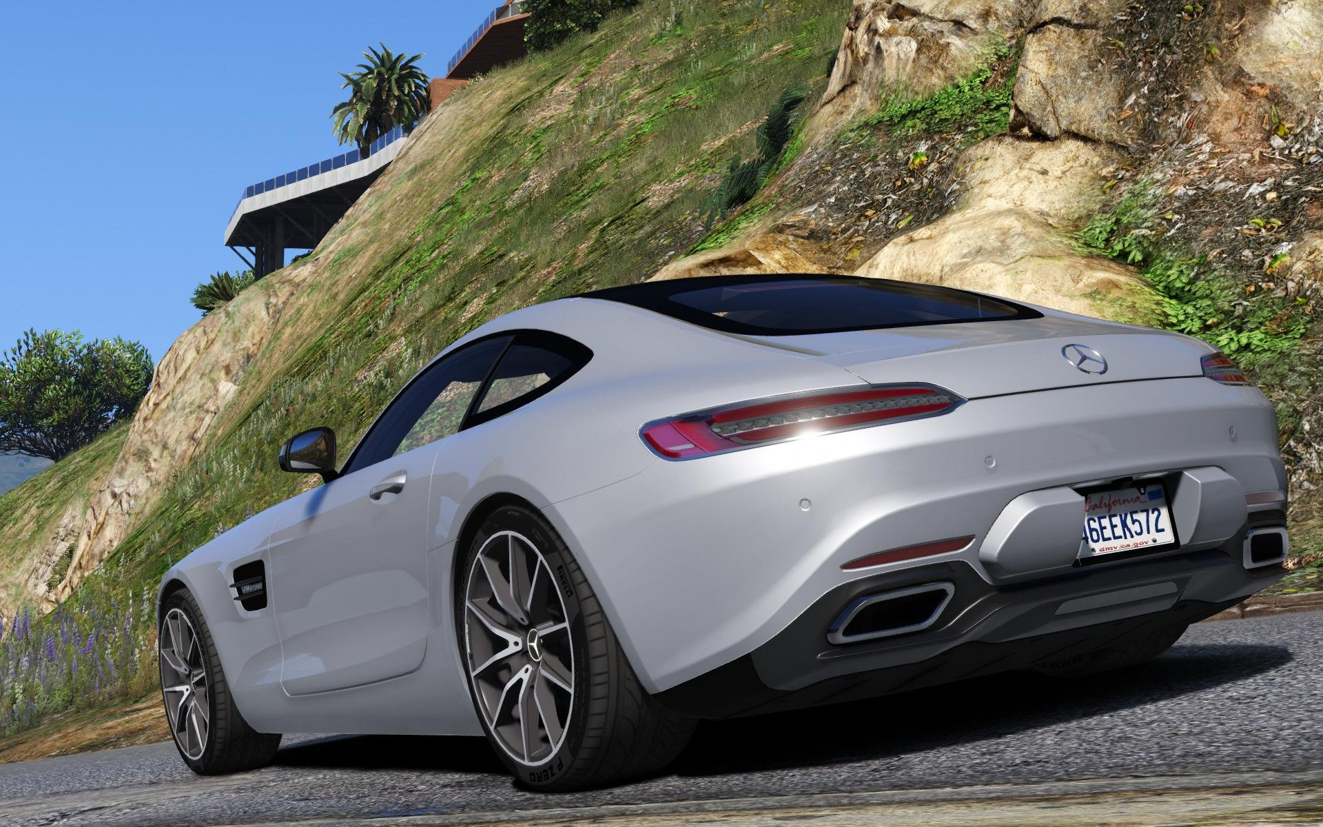 2016 mercedes benz amg gt add on gta5 for Mercede benz amg