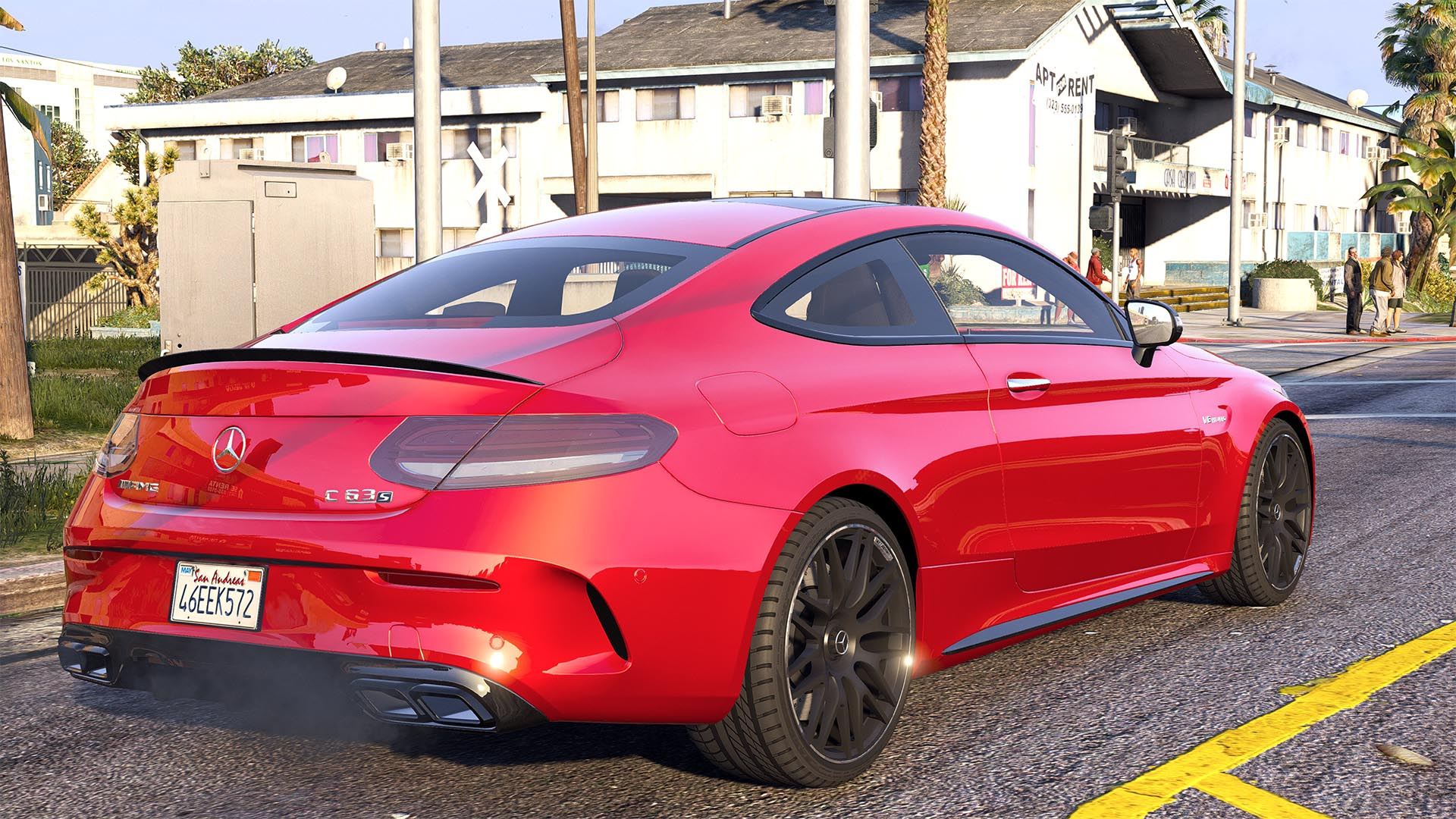 2016 Mercedes C63 Amg S Coupe Add On Replace Animated