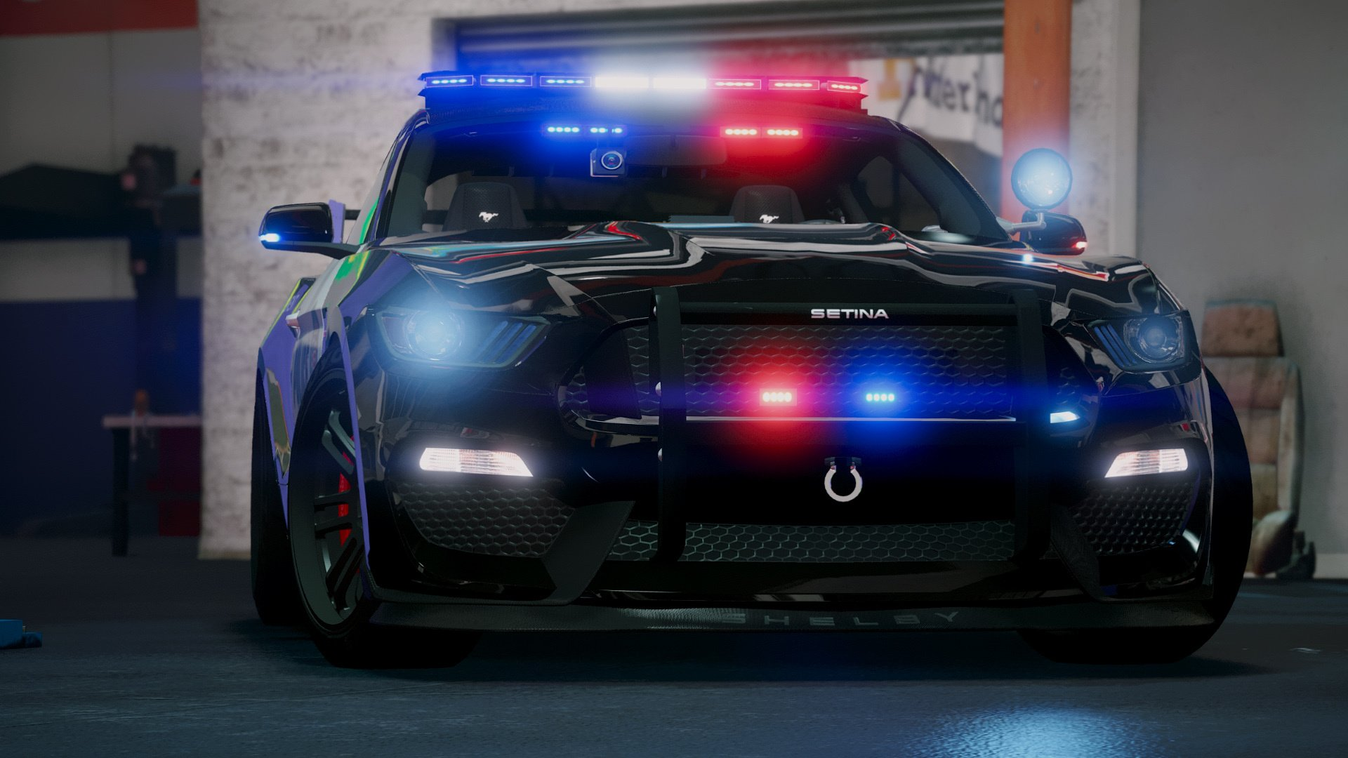 2015 Police Mustang GT [Add-On] - GTA5-Mods com