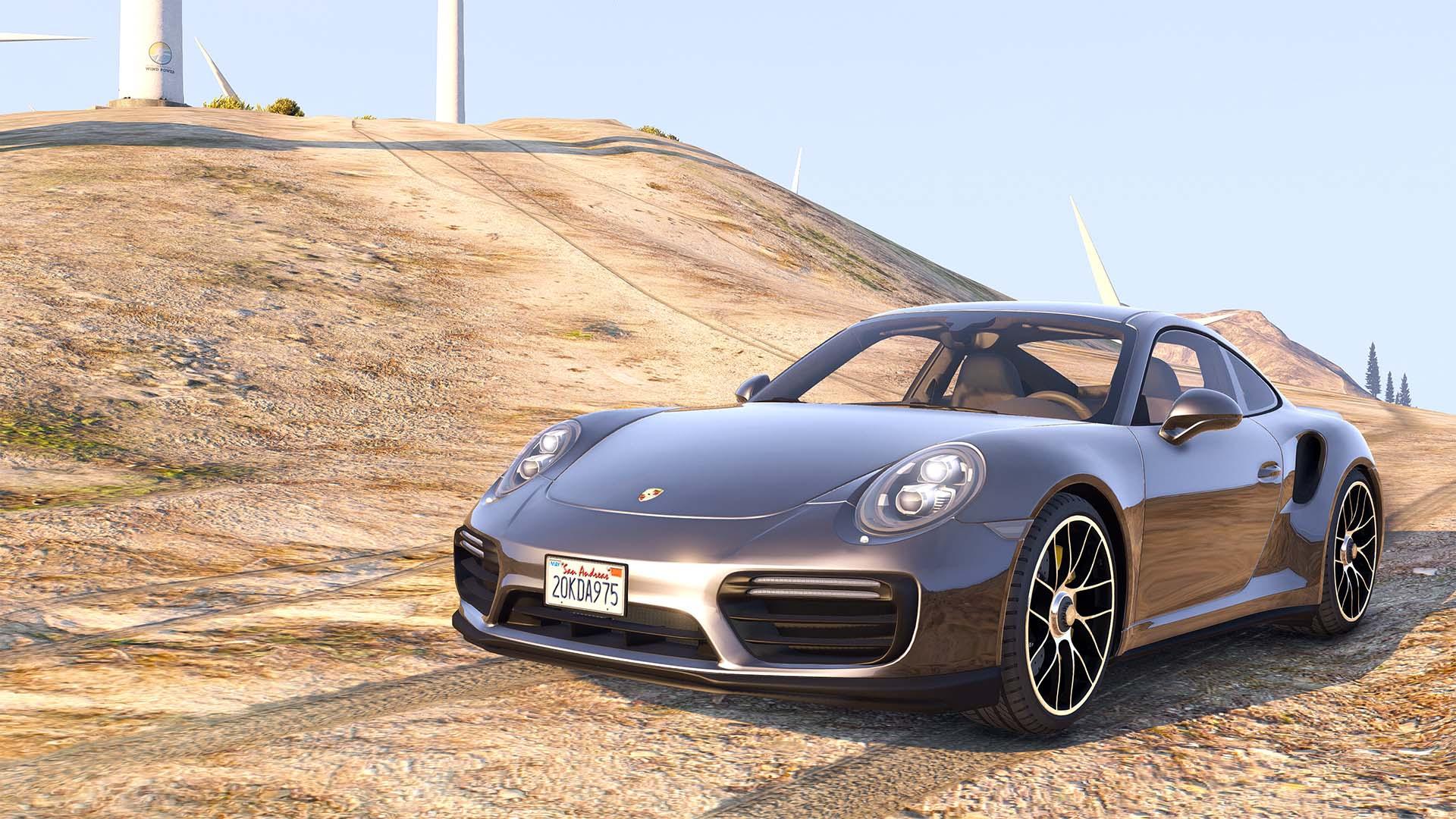 2016 porsche 911 turbo s add on replace auto spoiler. Black Bedroom Furniture Sets. Home Design Ideas