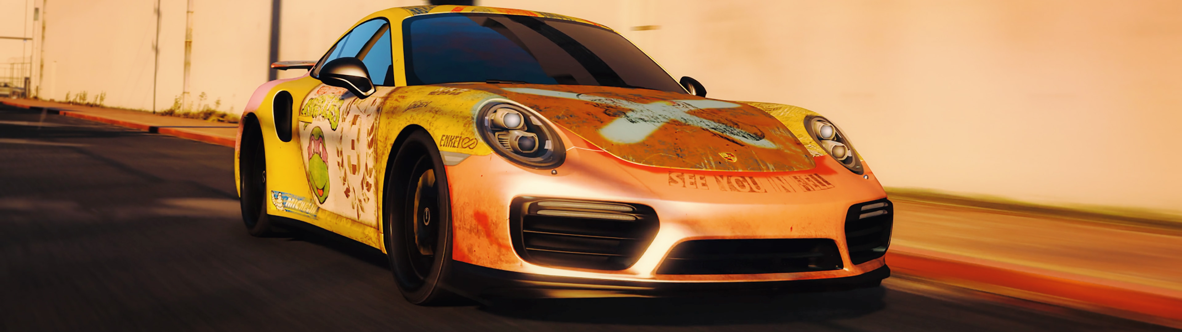 2016 porsche 911 turbo s rust livery gta5. Black Bedroom Furniture Sets. Home Design Ideas