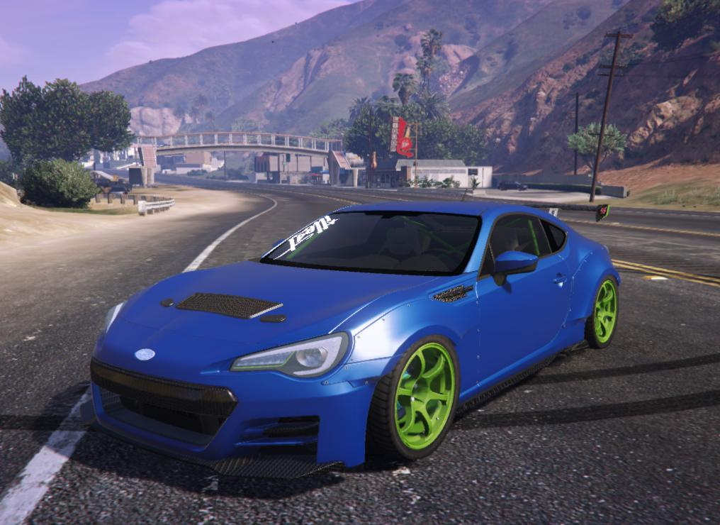 2016 subaru brz tuner gta5. Black Bedroom Furniture Sets. Home Design Ideas