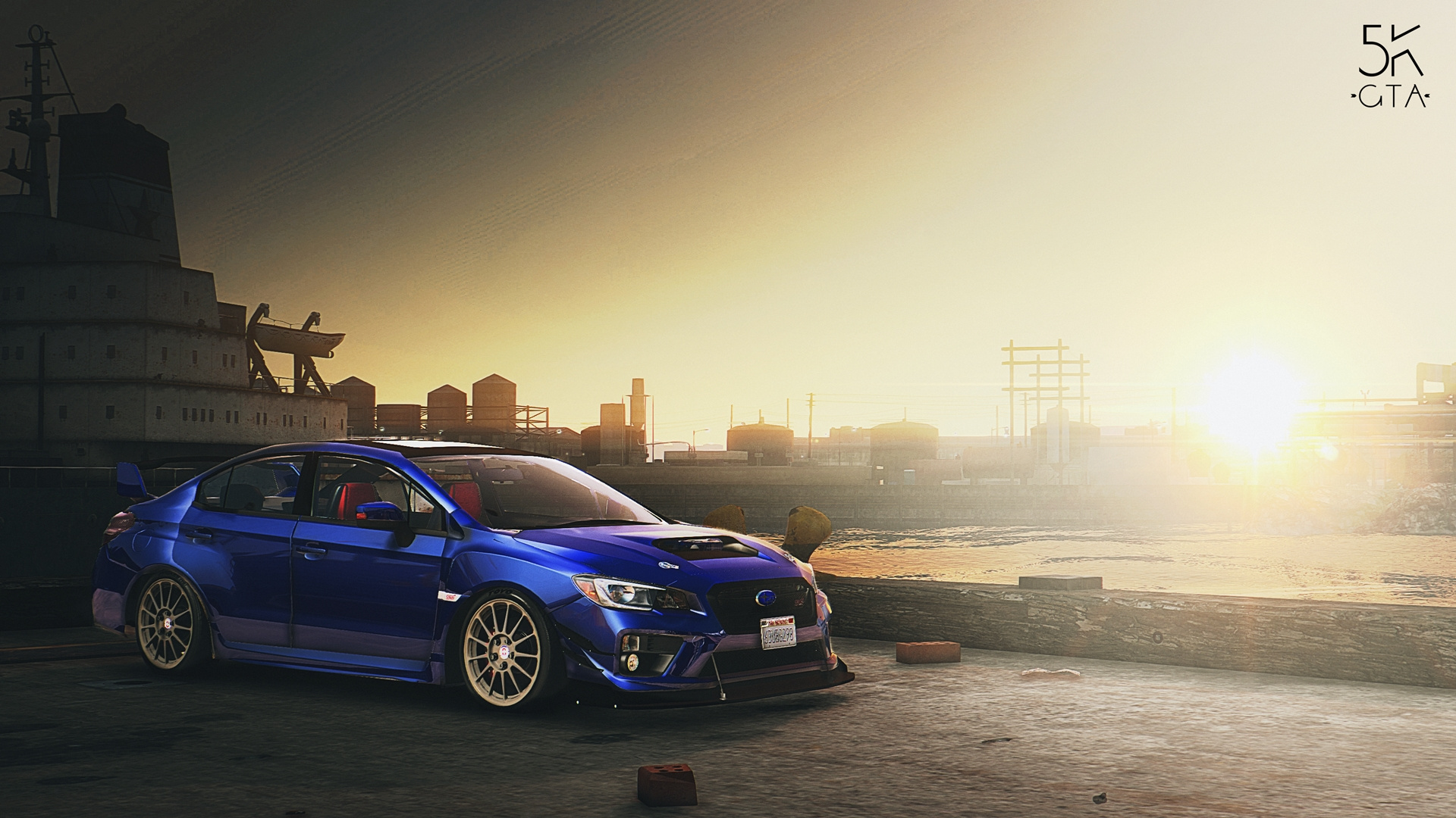 2016 Subaru Wrx Sti Replace Tuning Gta5 Mods Com