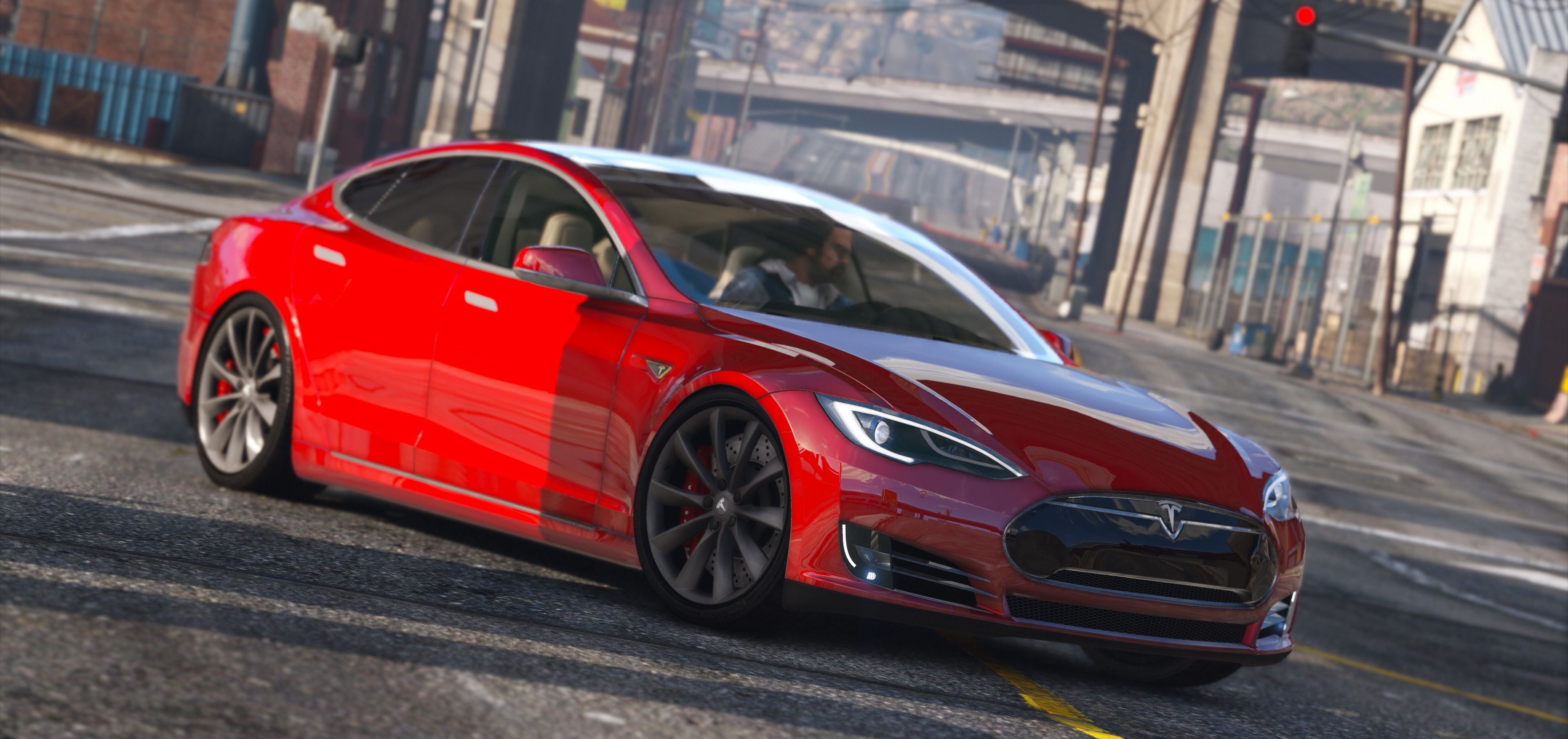2016 Tesla Model S P90D - GTA5-Mods.com on
