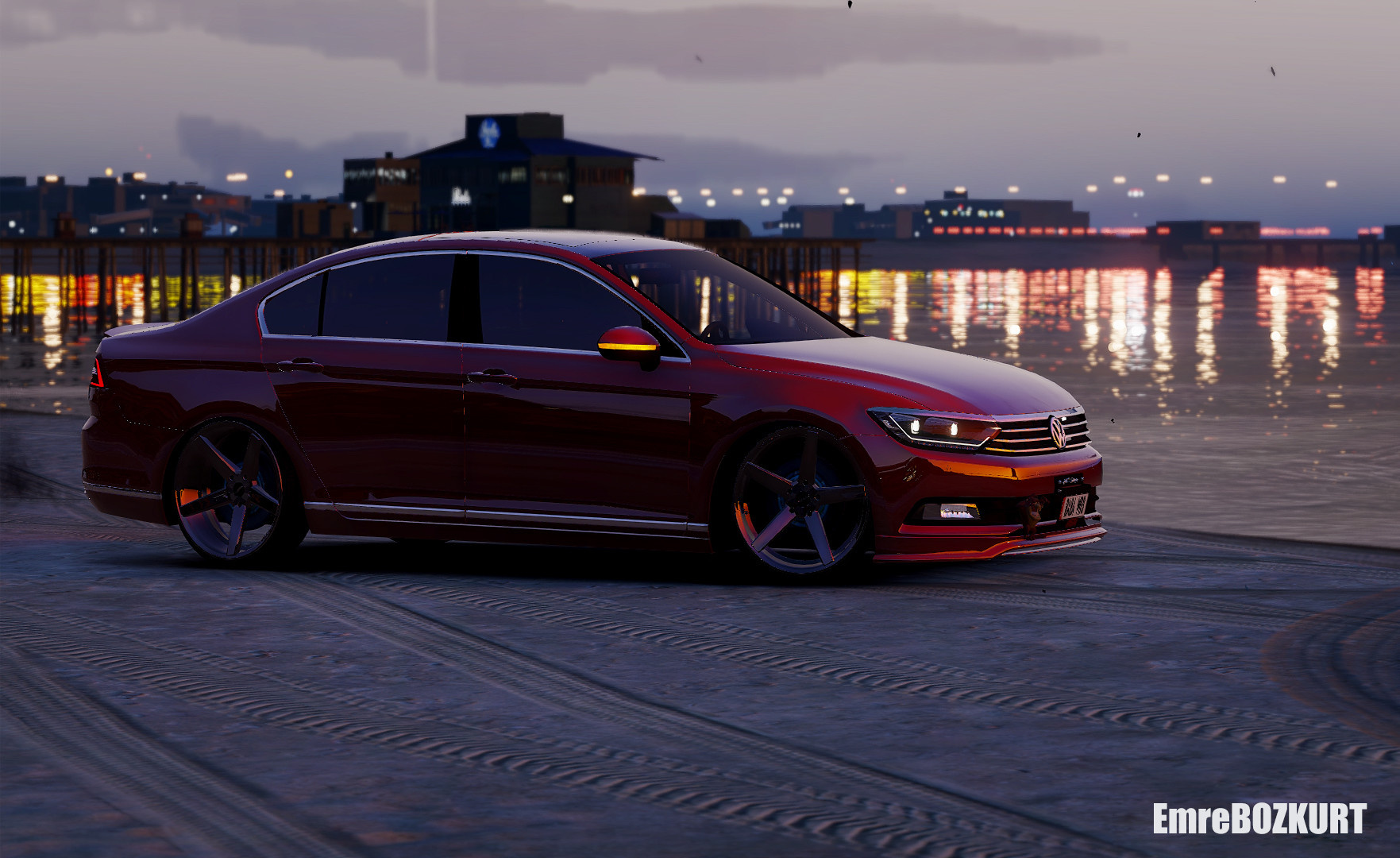 2016 Volkswagen Passat B8 Add On Replace Wipers Gta5 Mods Com