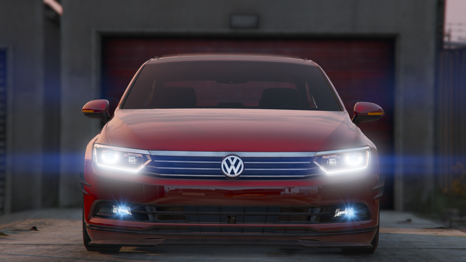 2016 volkswagen passat highline stanced b8 add on replace gta5. Black Bedroom Furniture Sets. Home Design Ideas