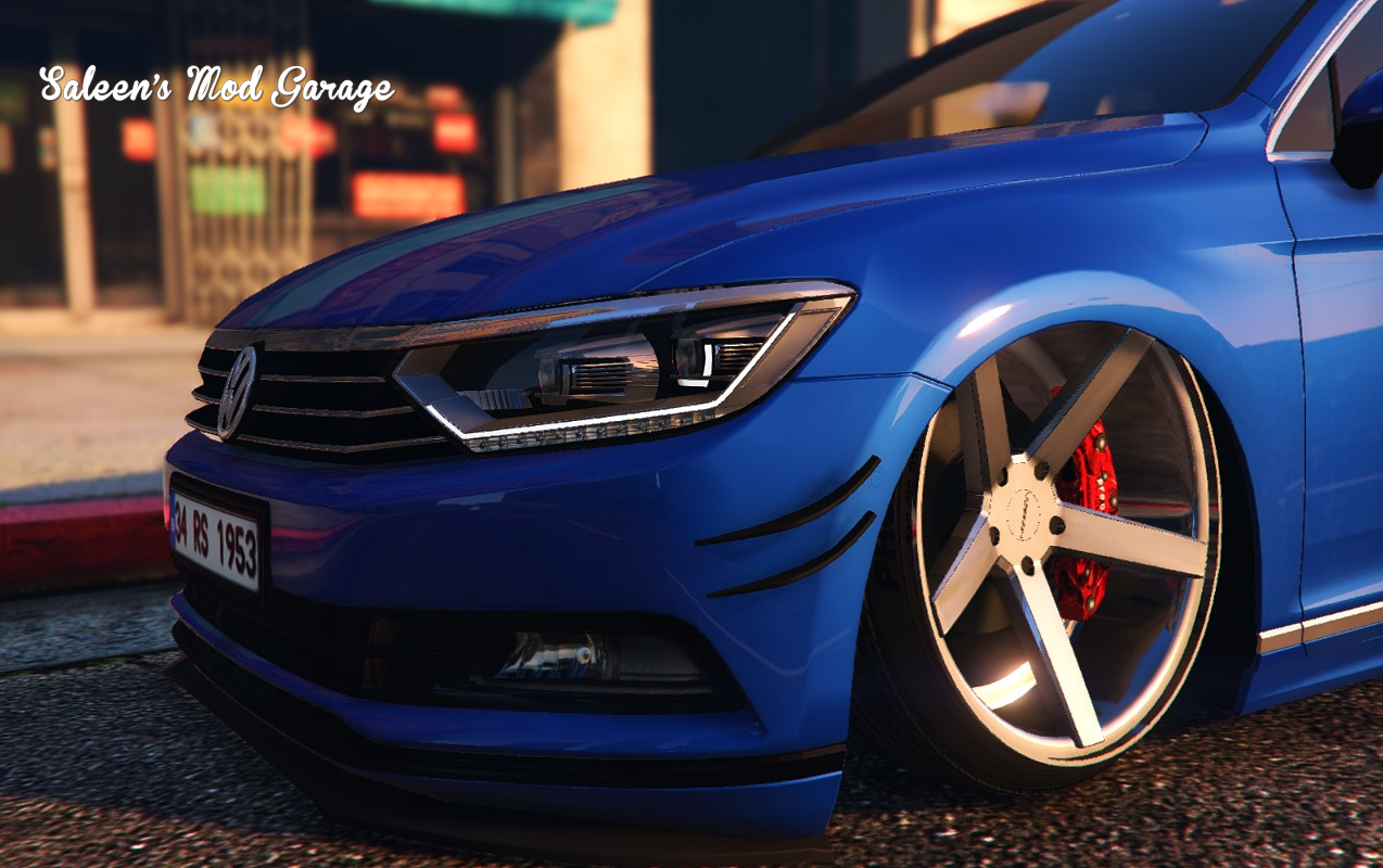 2016 Volkswagen Passat Highline Stanced B8 [Add-On / Replace