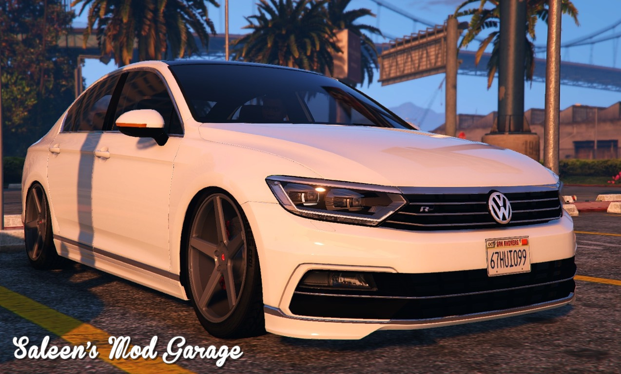 2016 volkswagen passat r line sedan b8 gta5. Black Bedroom Furniture Sets. Home Design Ideas