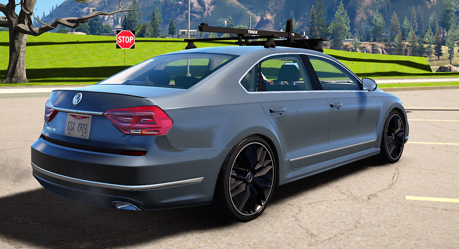 2016 volkswagen passat v6 sel r line gta5. Black Bedroom Furniture Sets. Home Design Ideas