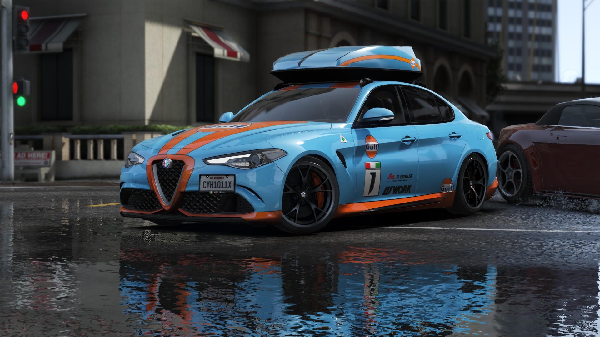 2017 Alfa Romeo Giulia Quadrifoglio HQ [Tuning/Add-on ...