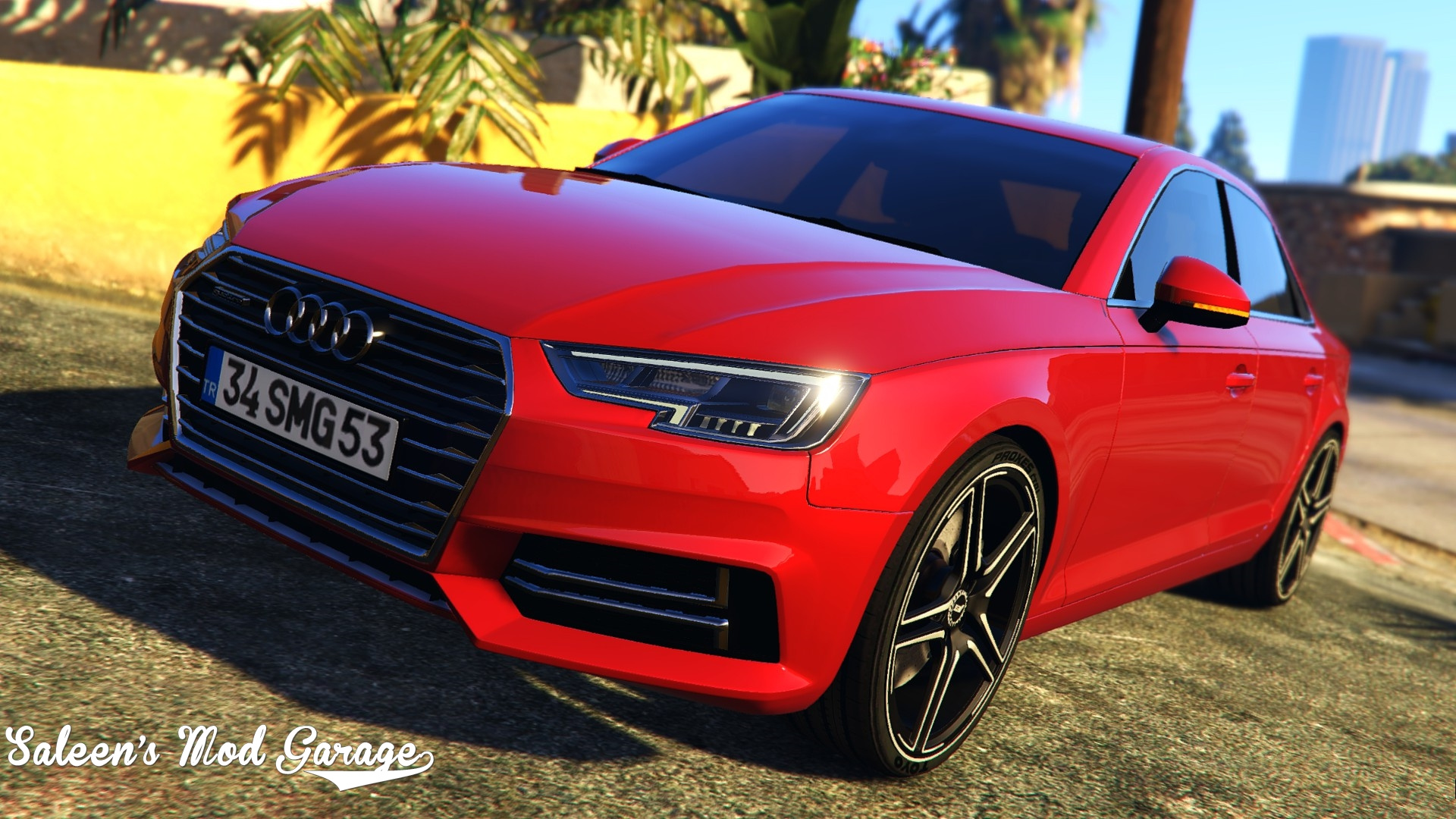 2017 audi a4 quattro abt add on replace tuning gta5. Black Bedroom Furniture Sets. Home Design Ideas