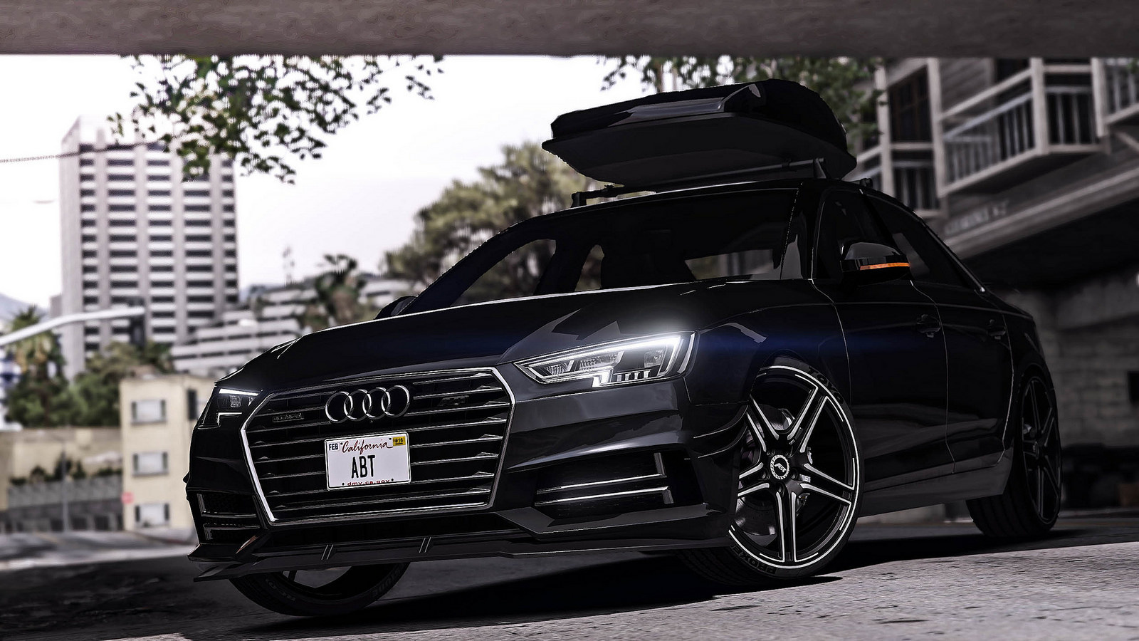 2017 Audi A4 Quattro Abt Add On Replace Tuning Gta5 Mods Com