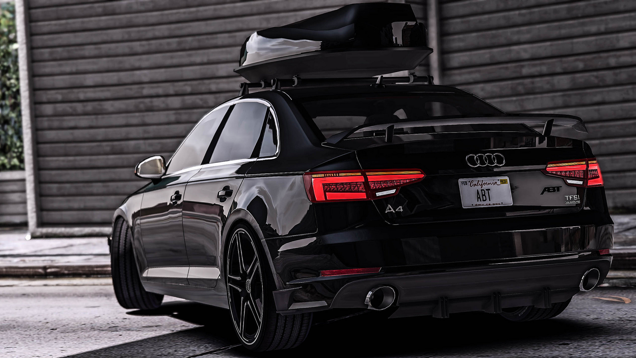 2017 audi a4 quattro abt add on replace tuning. Black Bedroom Furniture Sets. Home Design Ideas