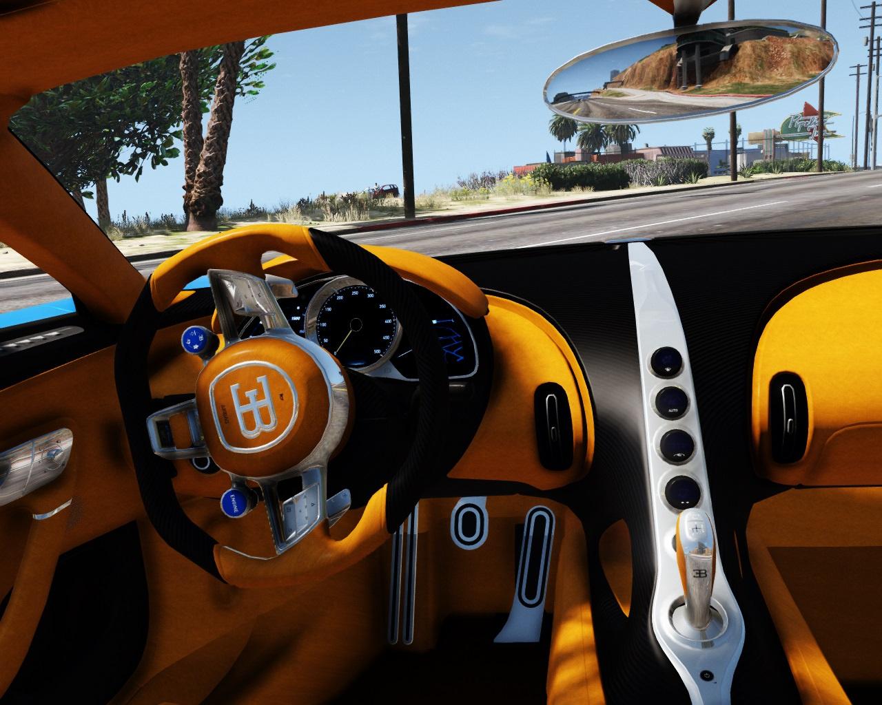 2017 Bugatti Chiron (Retexture) [Add-On / Replace   Auto ...