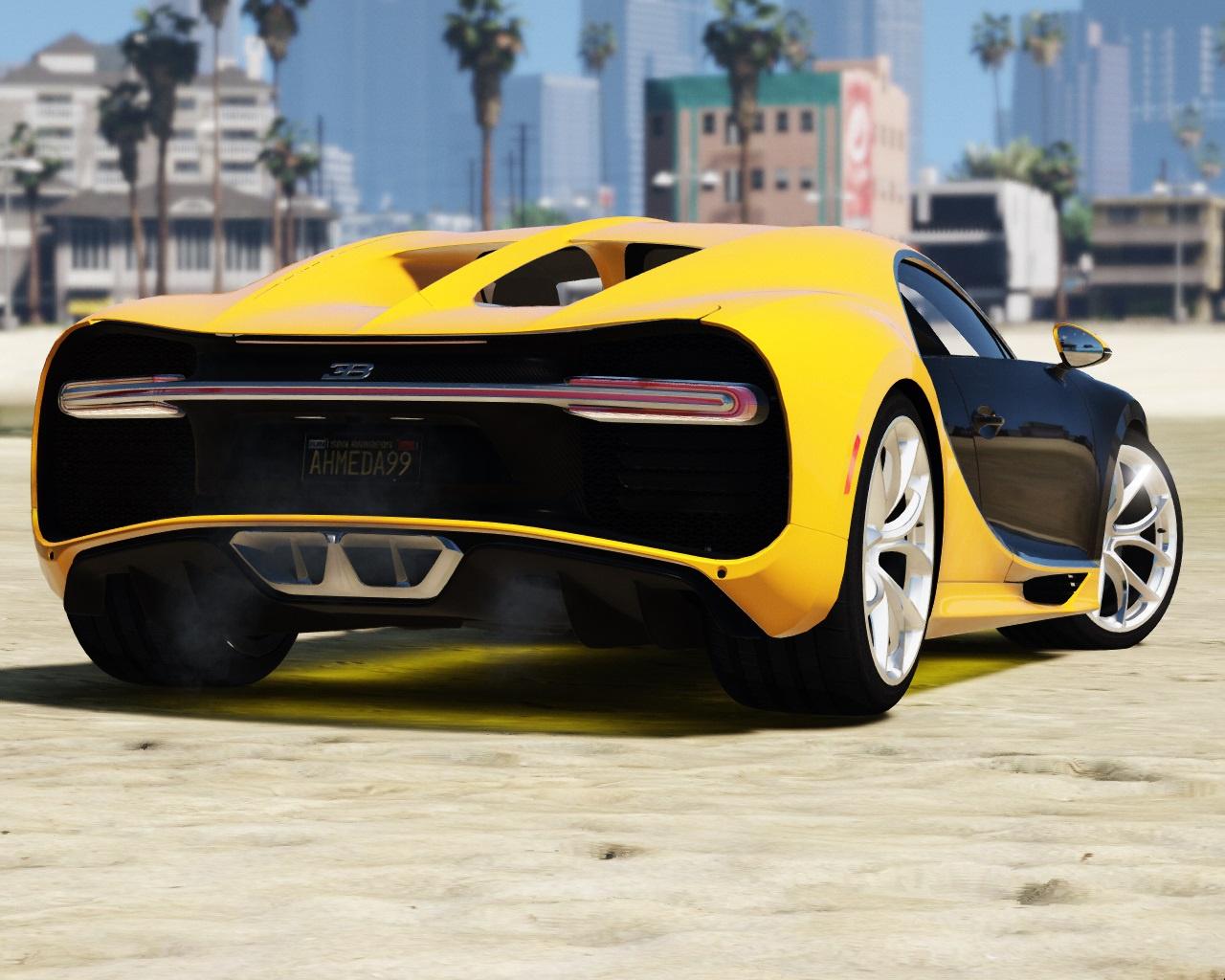 2017 Bugatti Chiron (Retexture) Add-On / Replace  - GTA5-Mods.com