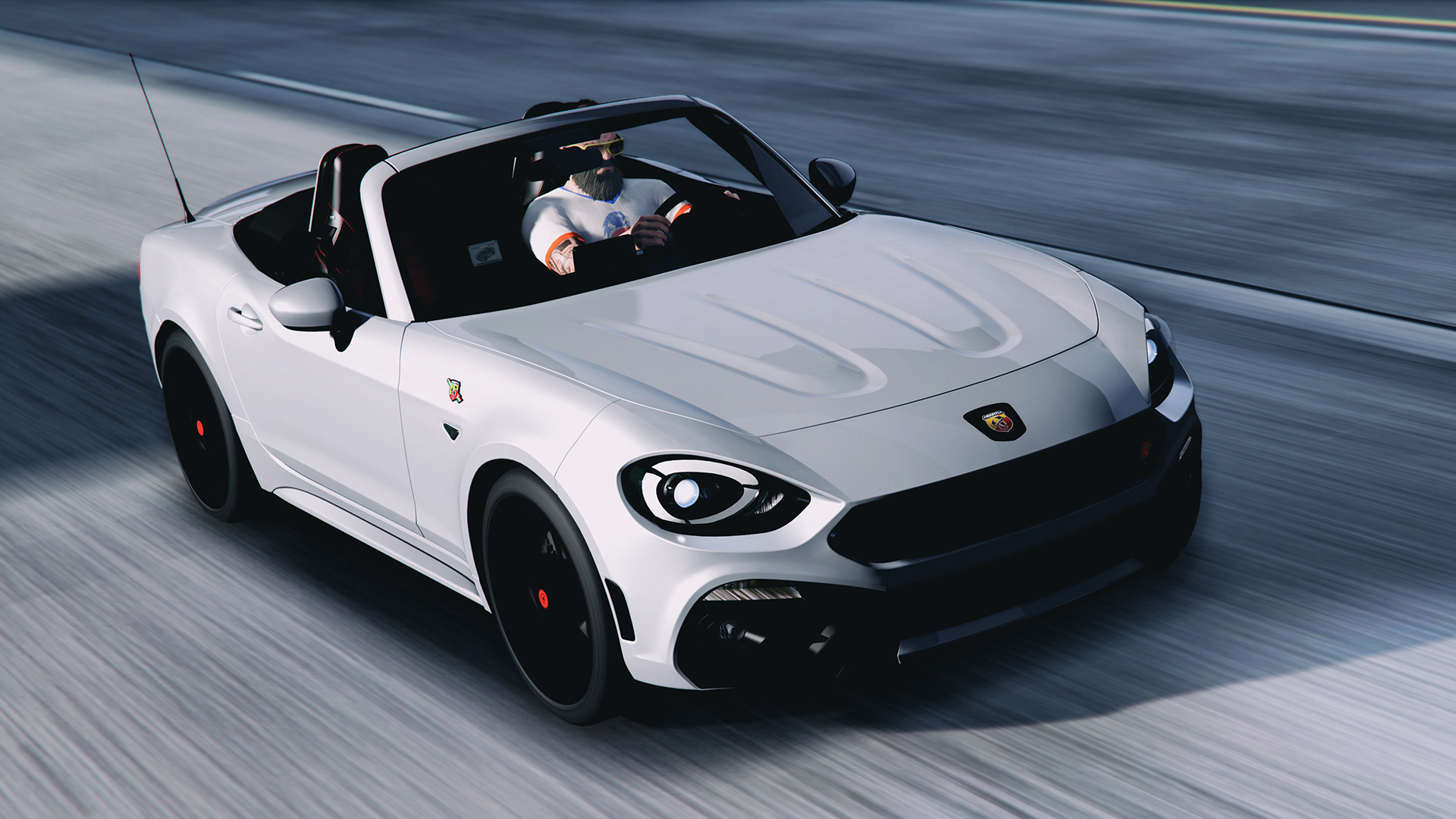 2017 fiat 124 spider abarth add on replace gta5. Black Bedroom Furniture Sets. Home Design Ideas
