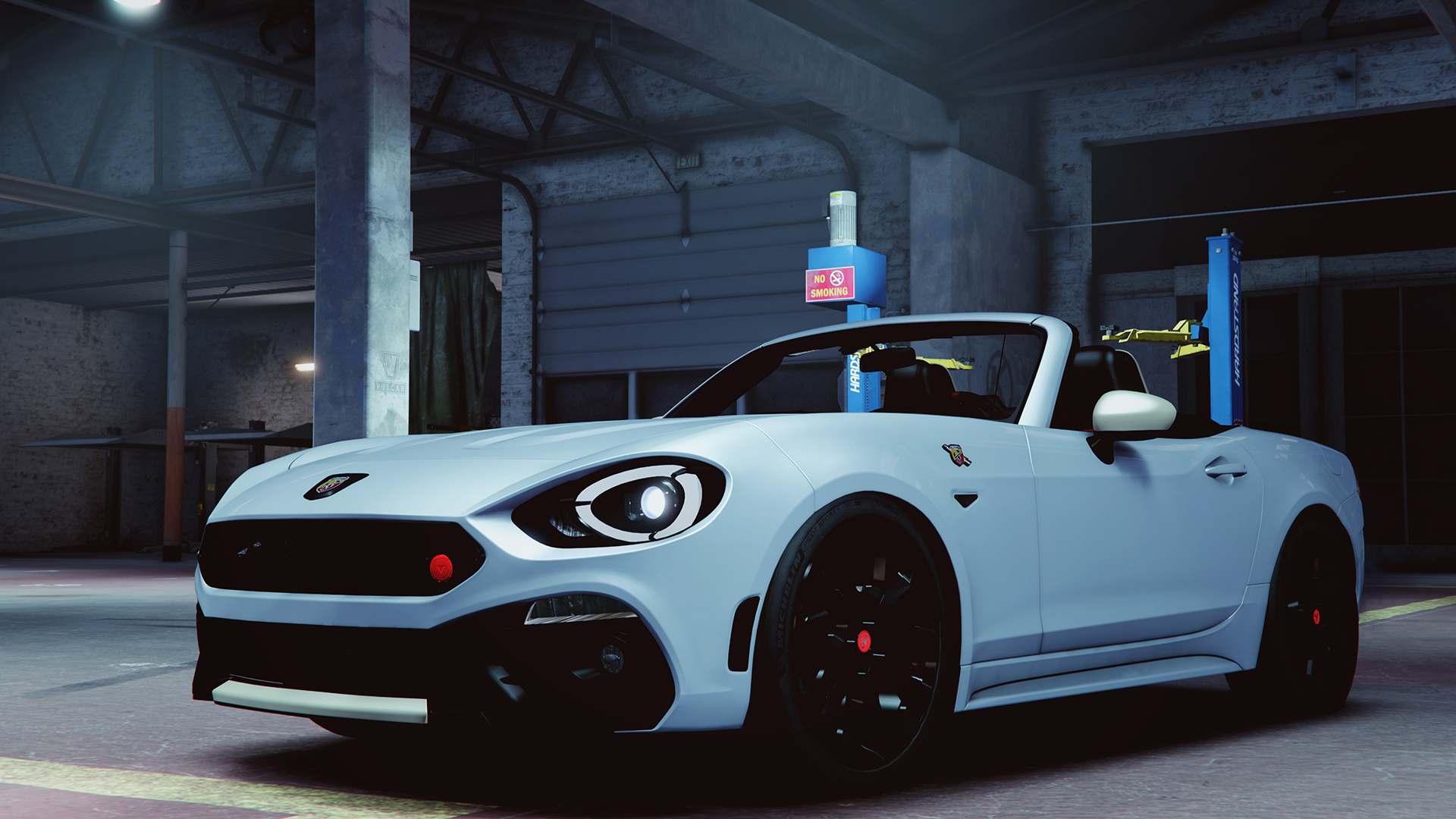2017 fiat 124 spider abarth addon replace gta5modscom