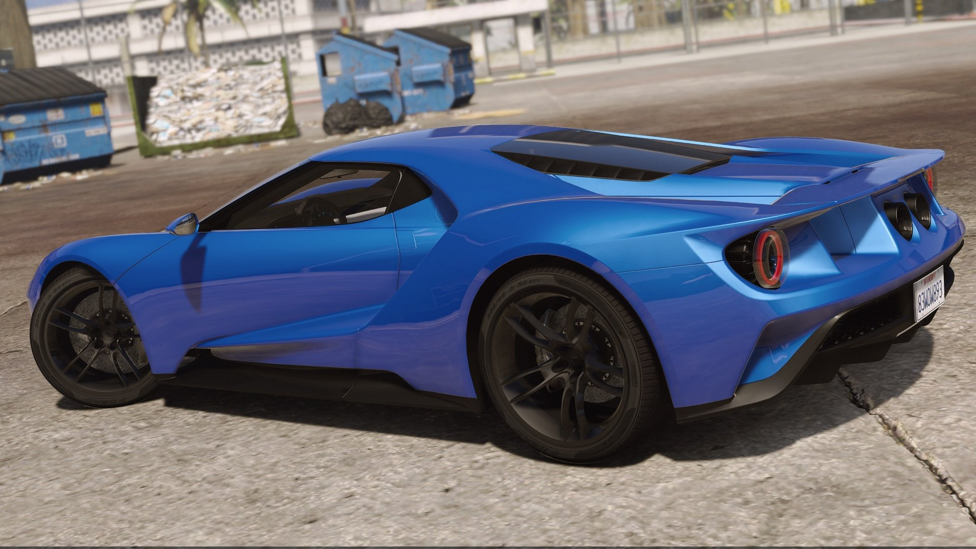 2017 ford gt add on replace template gta5. Black Bedroom Furniture Sets. Home Design Ideas