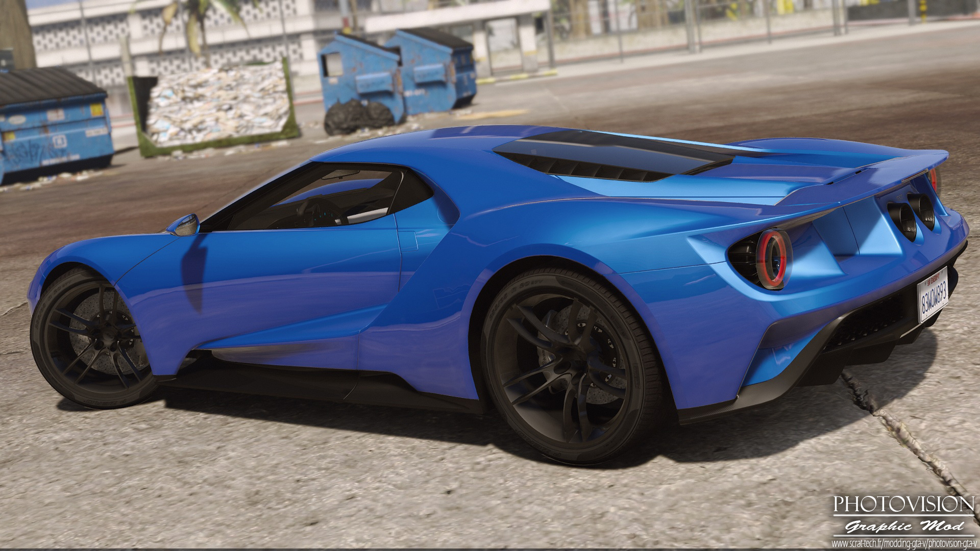 2017 Ford GT [Add-On / Replace | Template] - GTA5-Mods com