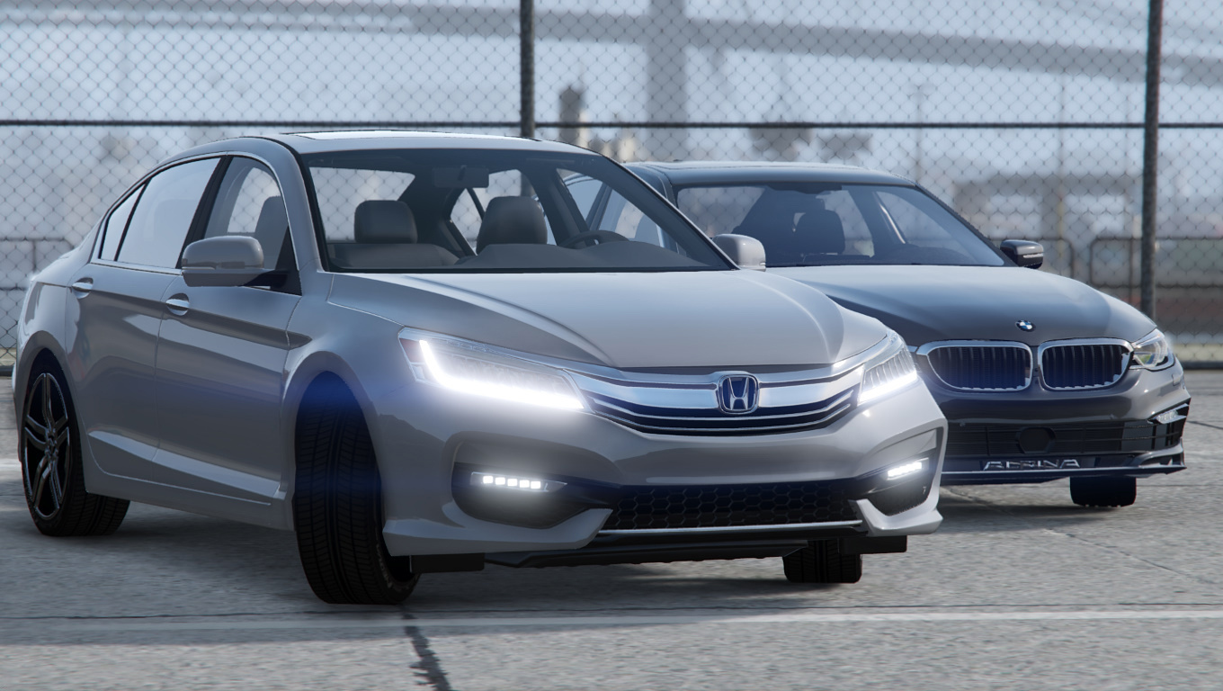 2017 Honda Accord V6 Touring Sedan Replace Gta5 Mods Com