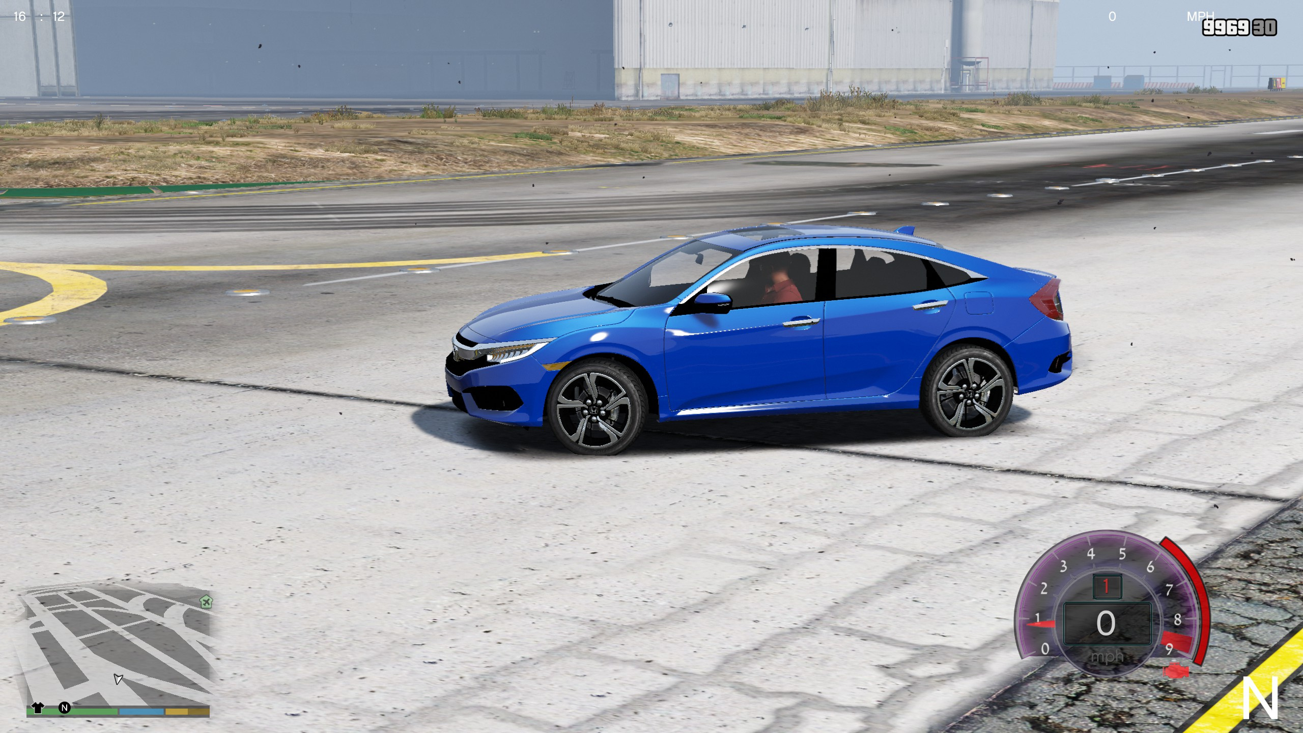 2017 Honda Civic Touring [Replace] GTA5 Mods