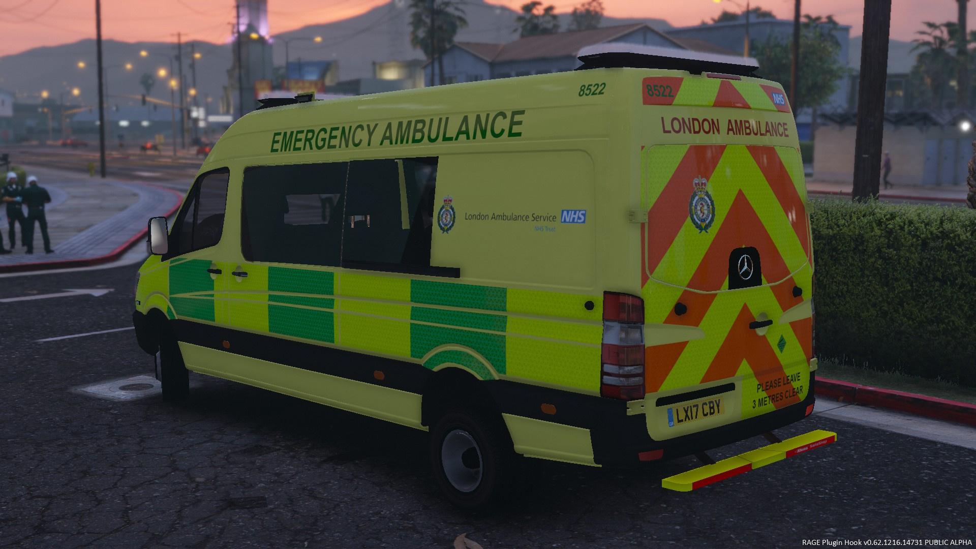2017 london ambulance service mercedes benz sprinter. Black Bedroom Furniture Sets. Home Design Ideas