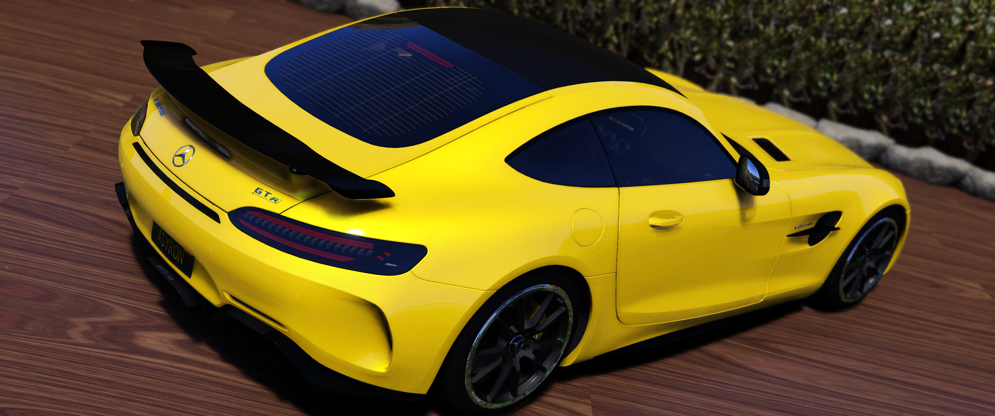2017 mercedes benz amg gt r add on template gta5. Black Bedroom Furniture Sets. Home Design Ideas