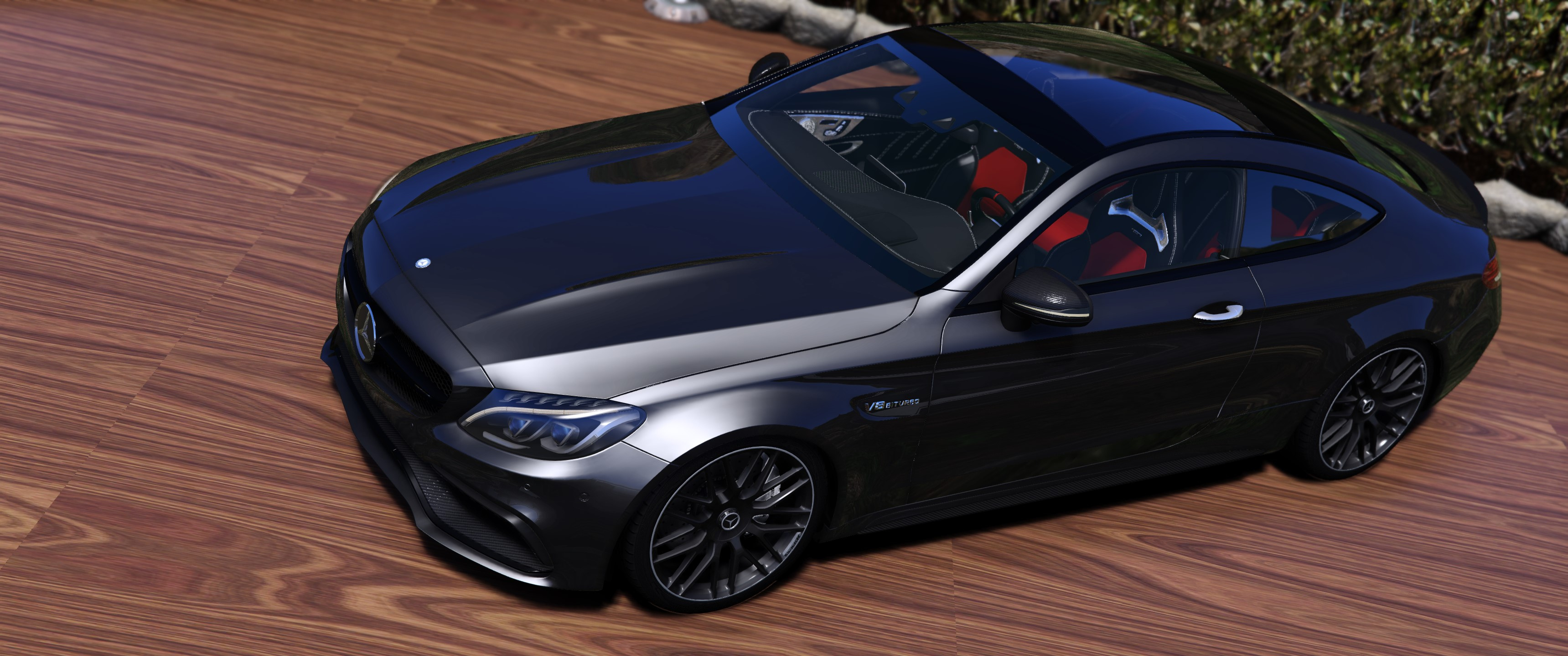2017 Mercedes Benz C63s Amg Coupe Add On Tuning Template Gta5 Mods Com