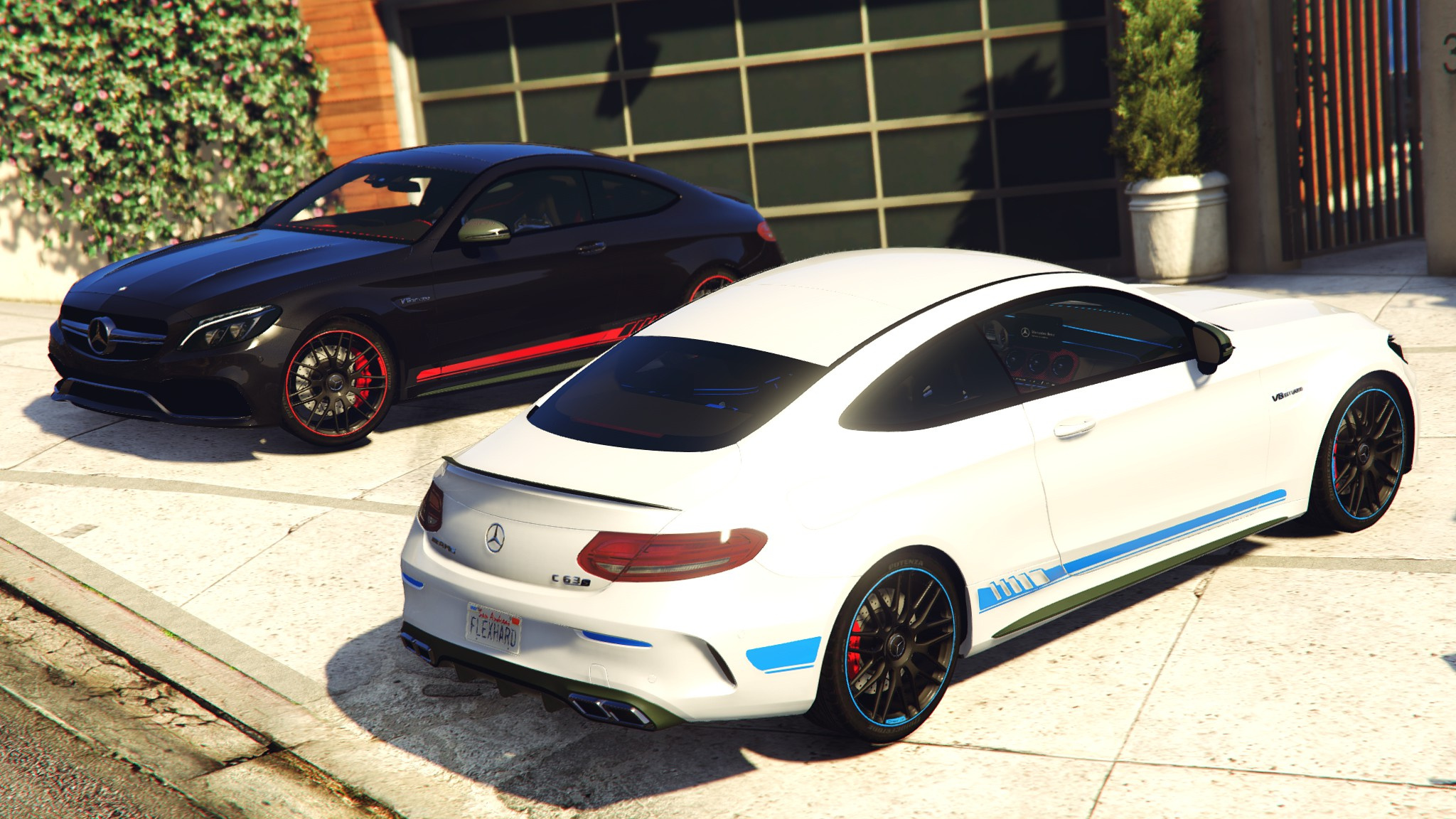2017 mercedes c63s amg coupe full hq paintable replace gta5. Black Bedroom Furniture Sets. Home Design Ideas