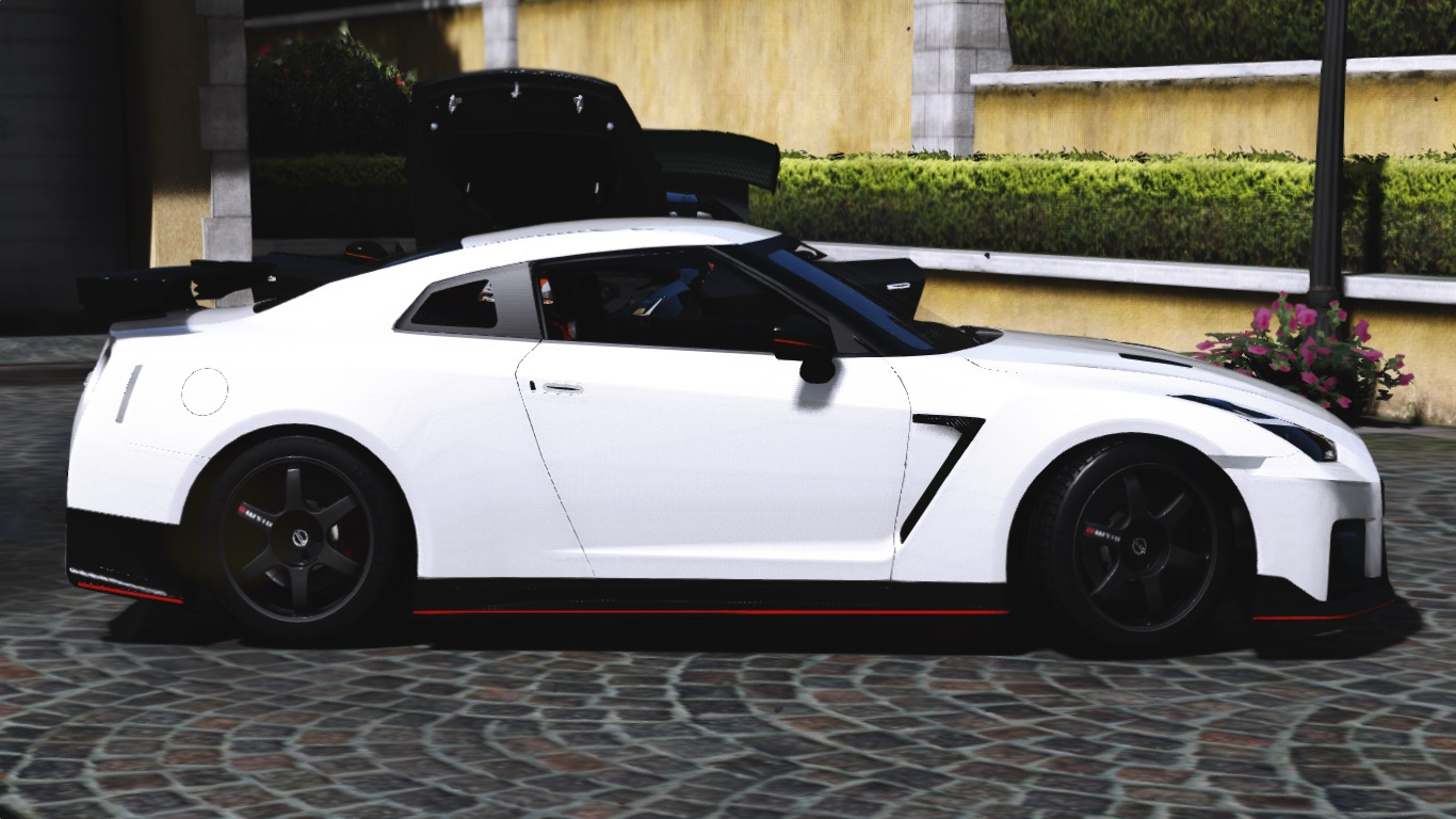 2017 nissan gtr nismo add on replace gta5. Black Bedroom Furniture Sets. Home Design Ideas