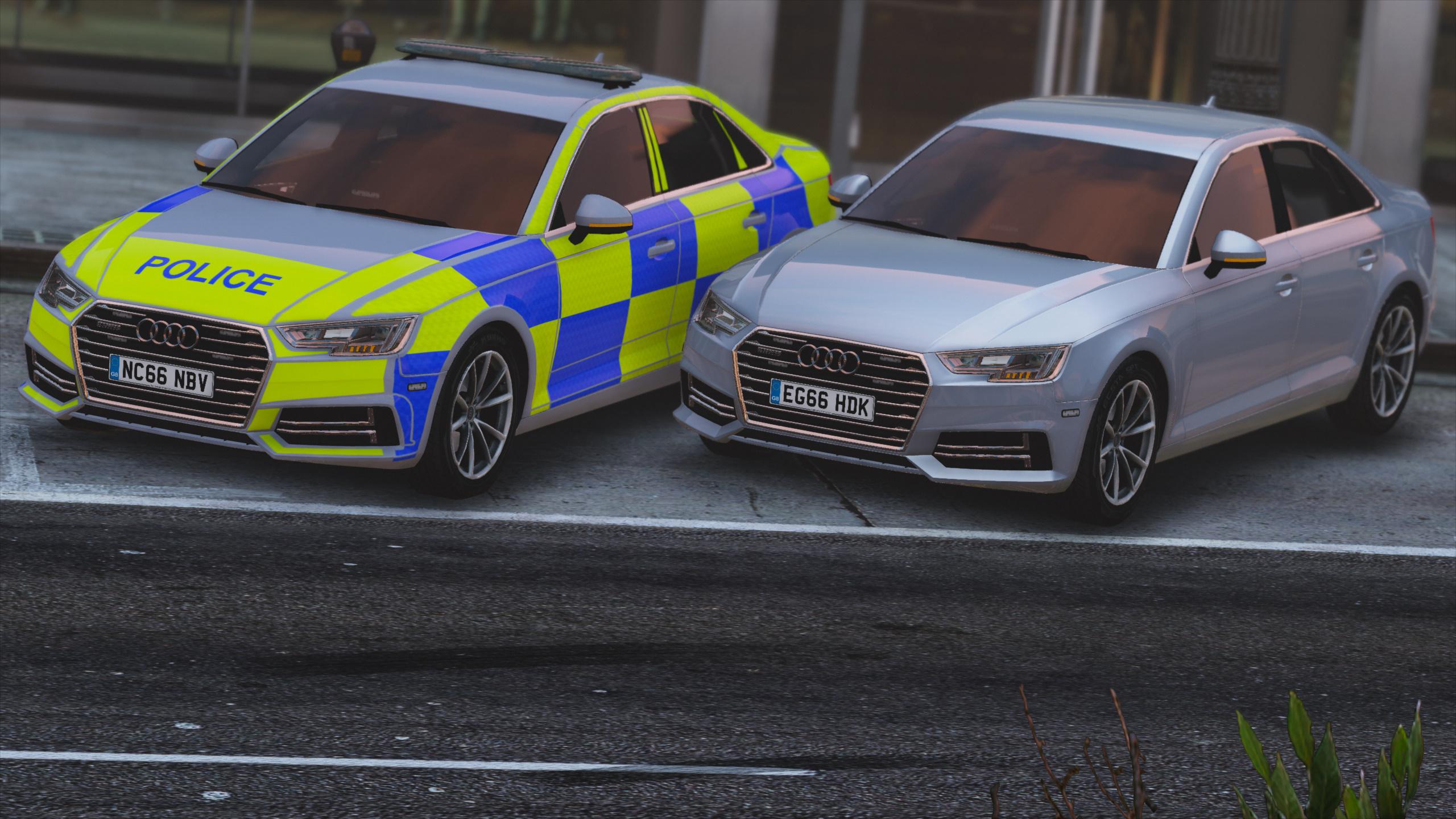 Police Audi A Pack ELS GTAModscom - Audi car gta 5