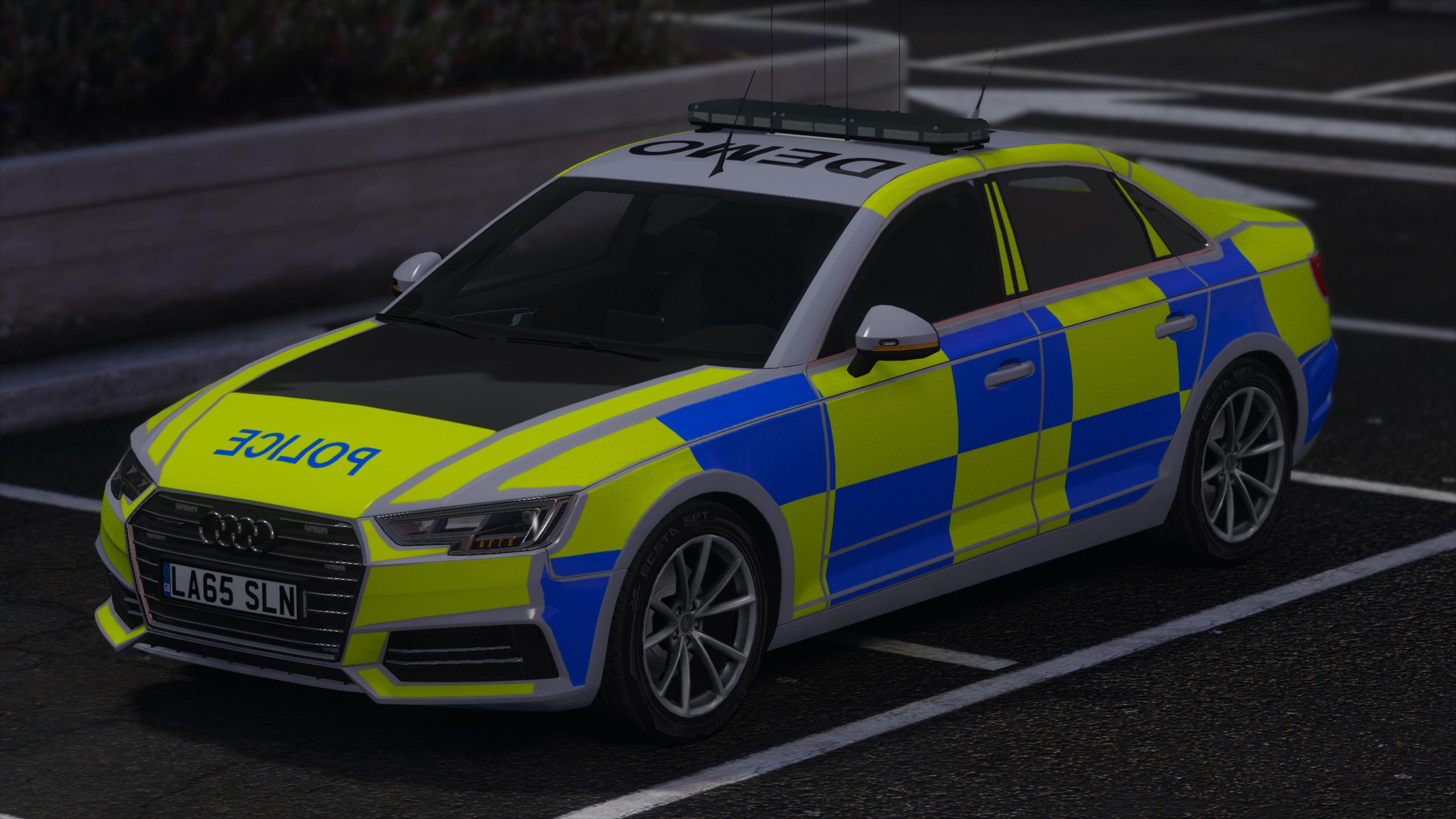 2017 Police Audi A4 Quattro (Pack) - GTA5-Mods.com