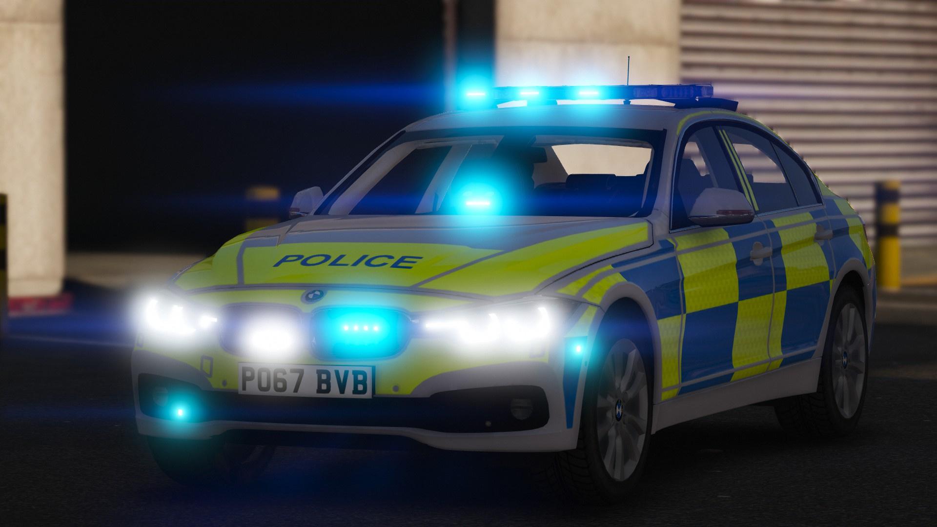 2017 Police Bmw 330d F30 Gta5 Mods Com