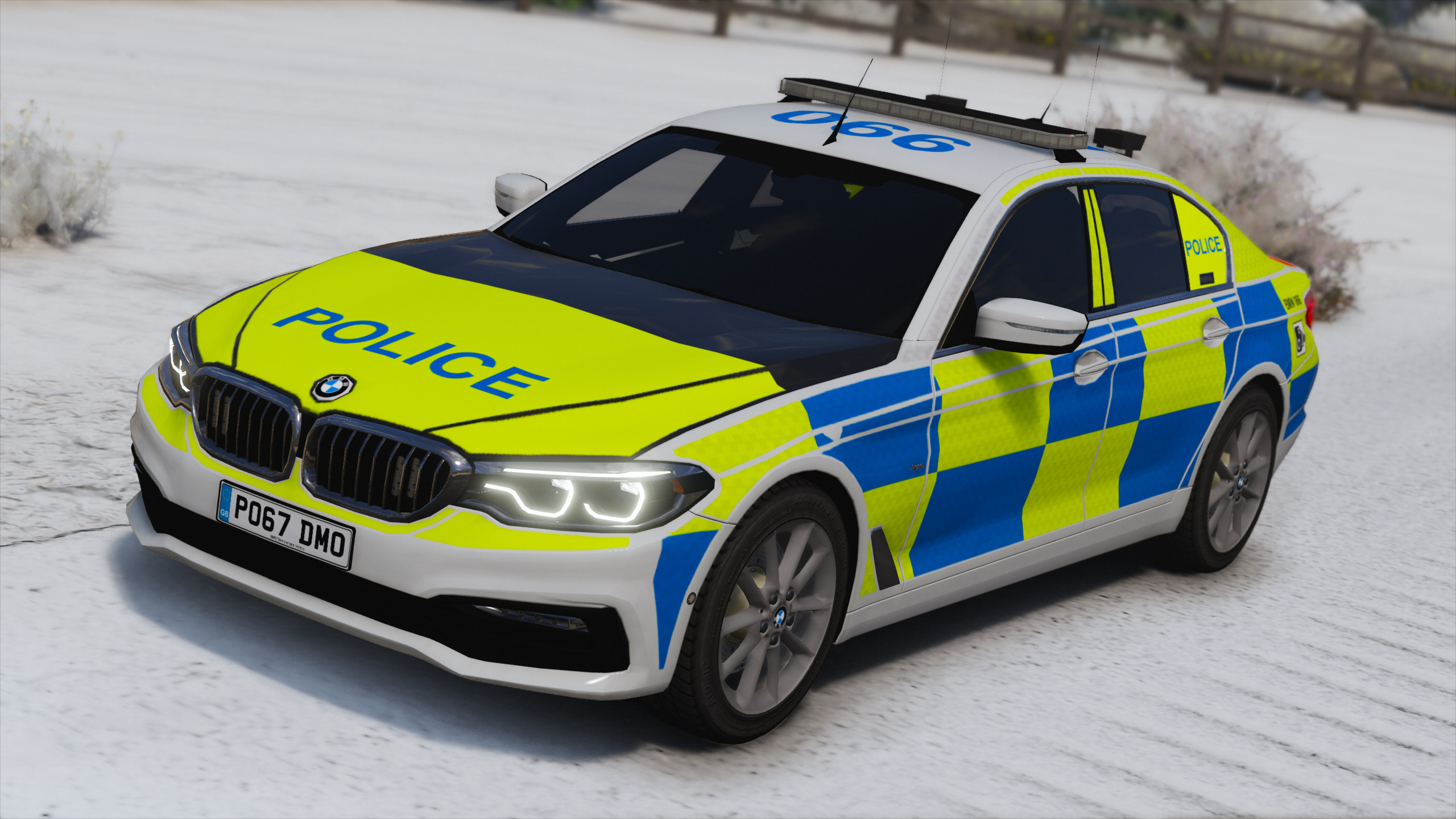 2017 police bmw g30 5-series [replace | els] - gta5-mods
