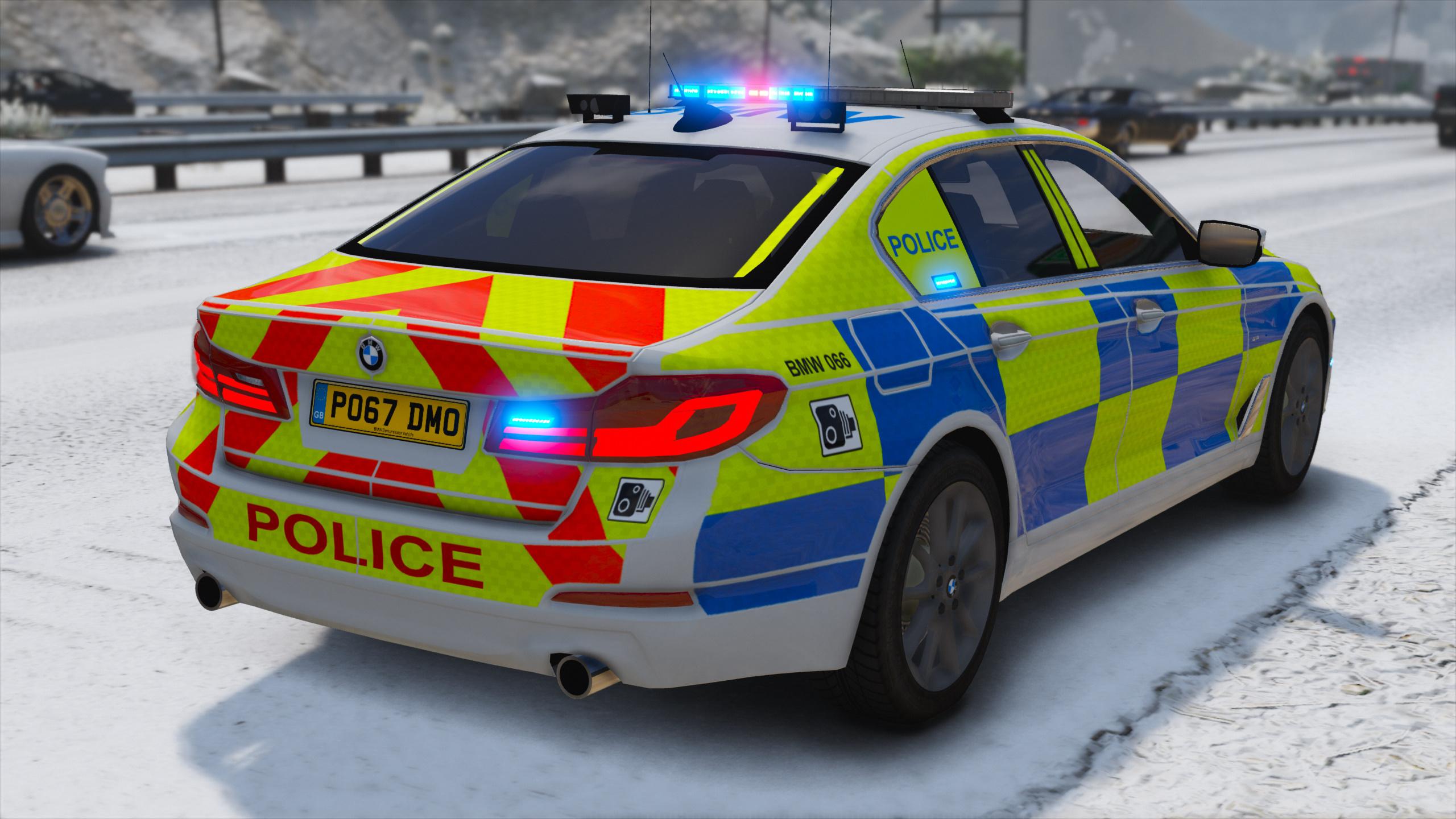 2017 Police Bmw G30 5 Series Replace Els Gta5 Mods Com