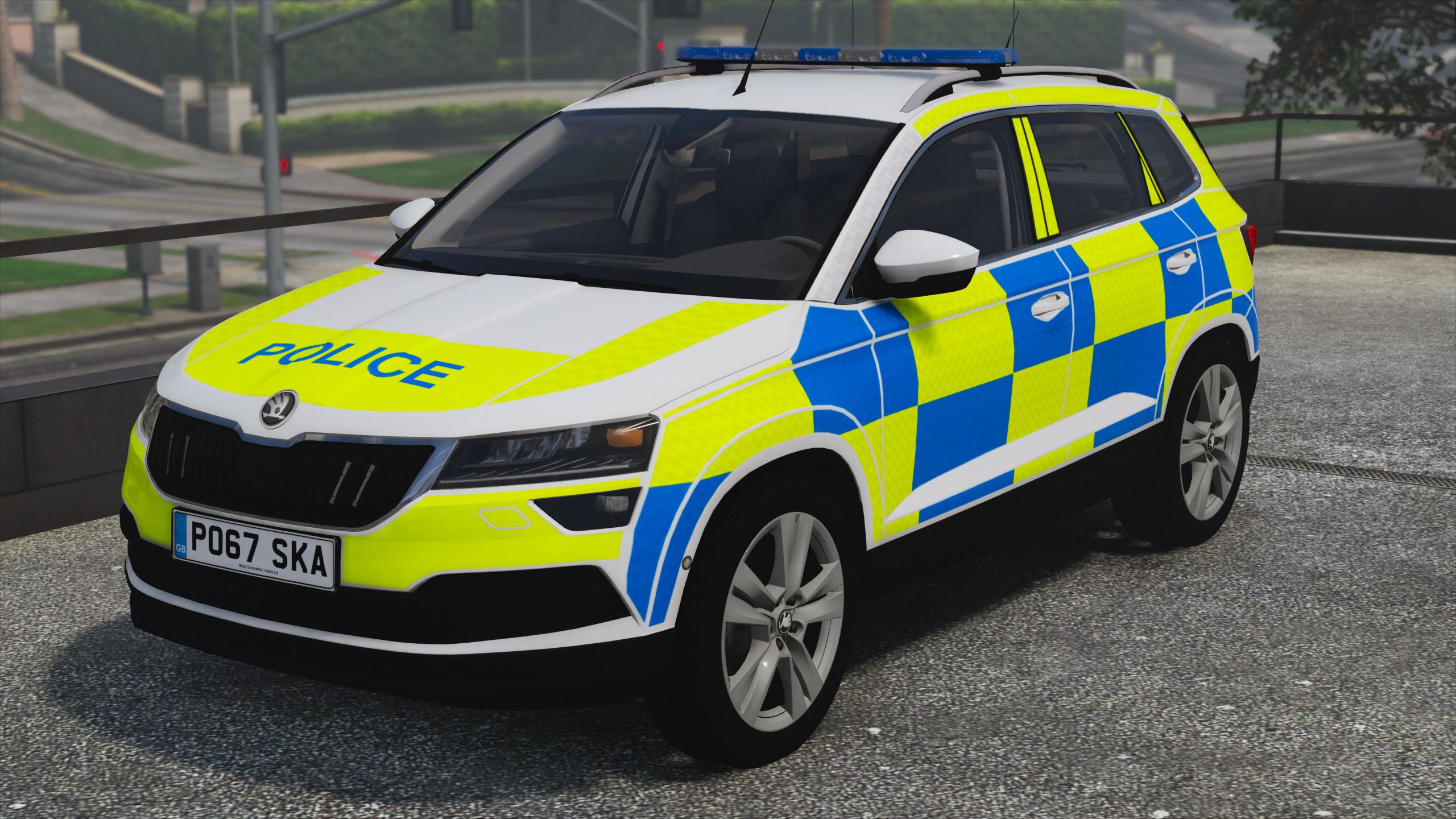 2017 police skoda karoq gta5. Black Bedroom Furniture Sets. Home Design Ideas
