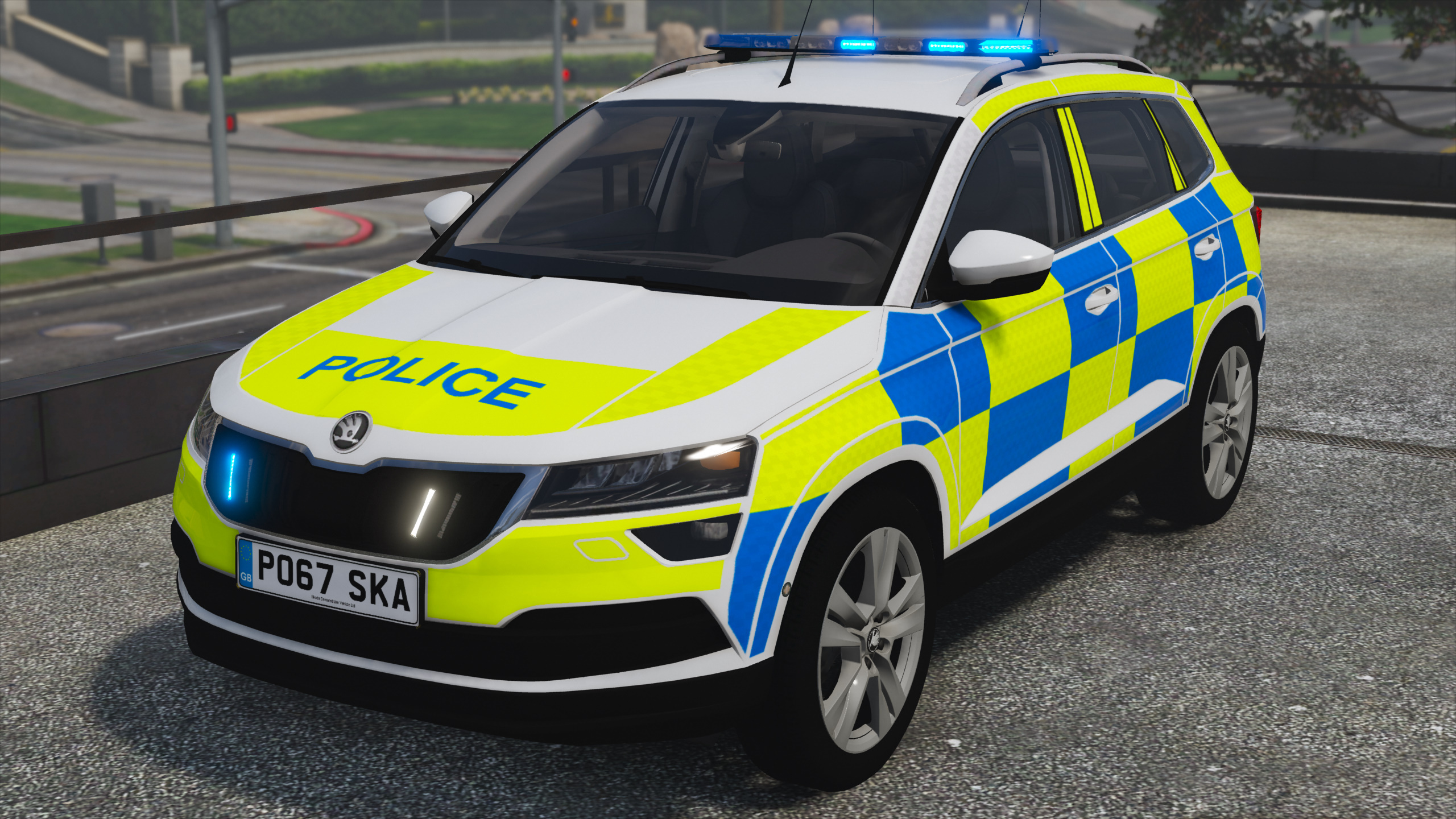 2017 police skoda karoq gta5. Black Bedroom Furniture Sets. Home Design Ideas
