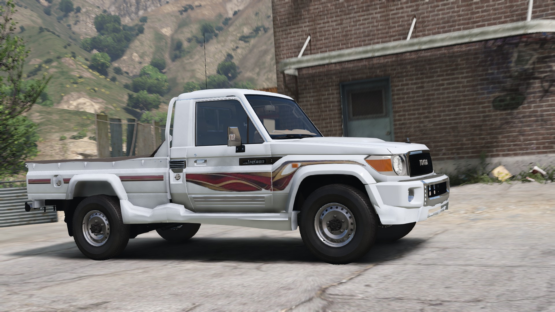 2017 Toyota Land Cruiser v6 [ Add-on / Tuning / Livery / Replace