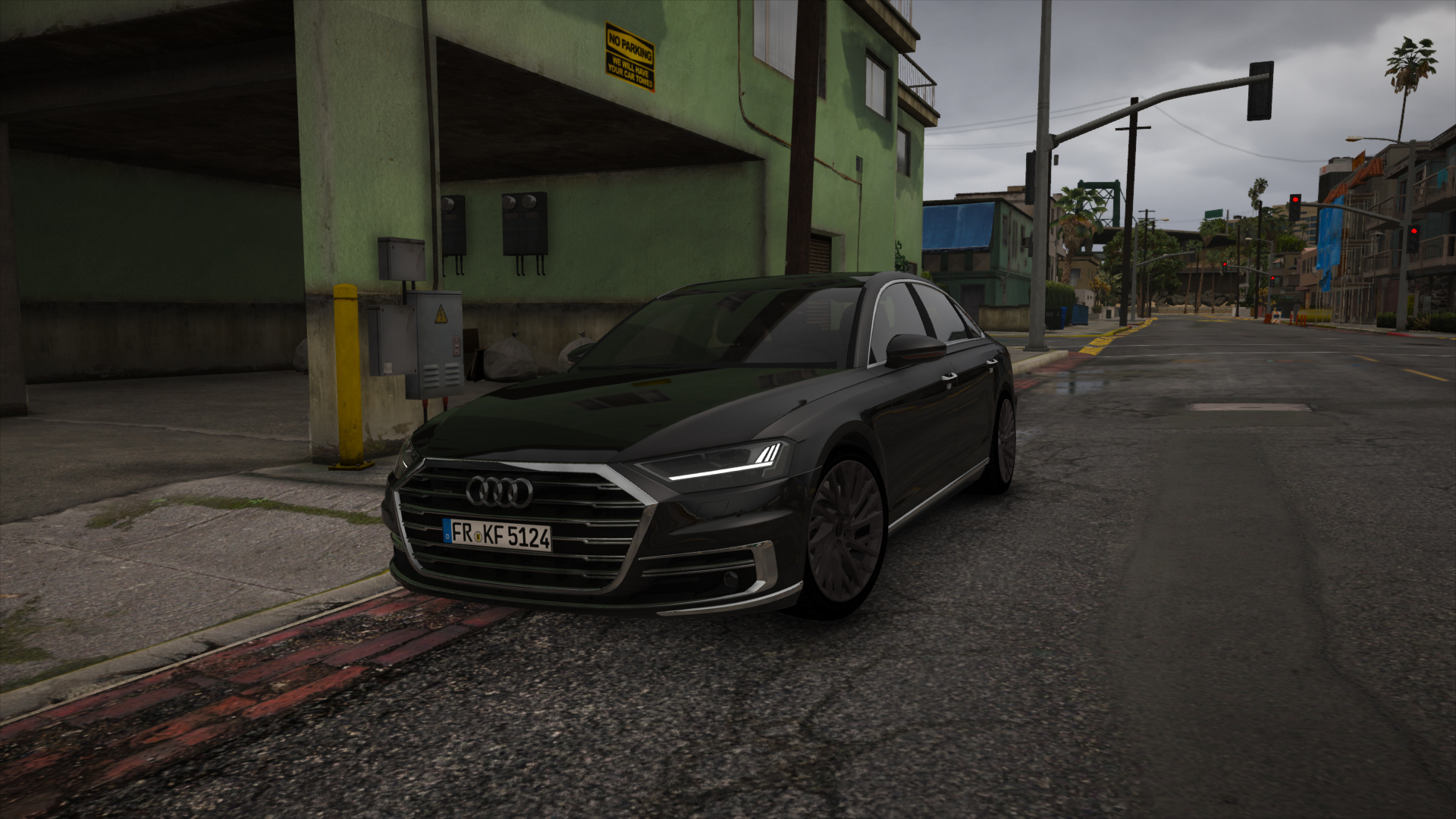 2018 Audi A8 Hq Add On Replace Gta5 Modscom