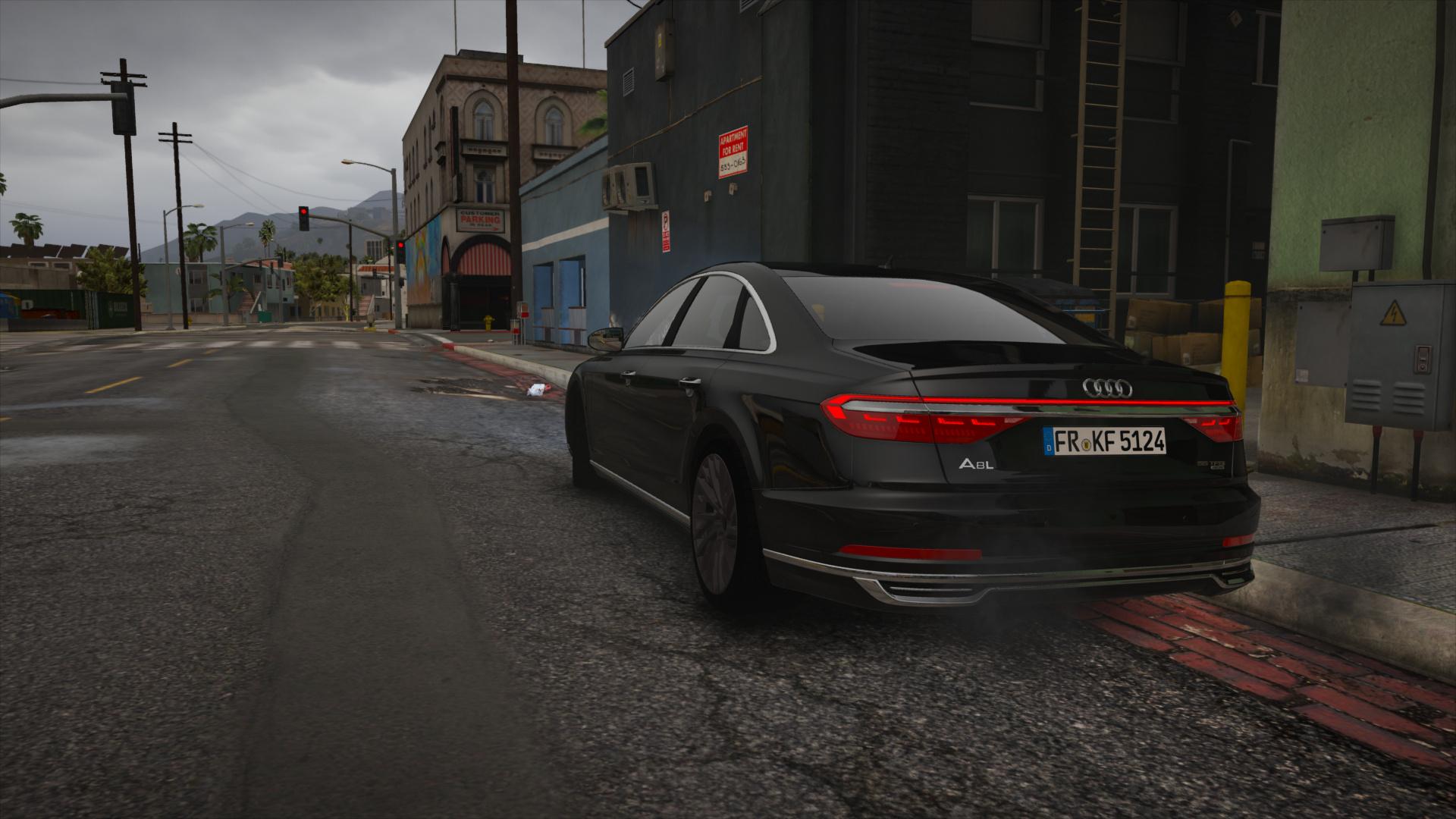 Audi A HQ AddOn Replace GTAModscom - 2018 audi a8