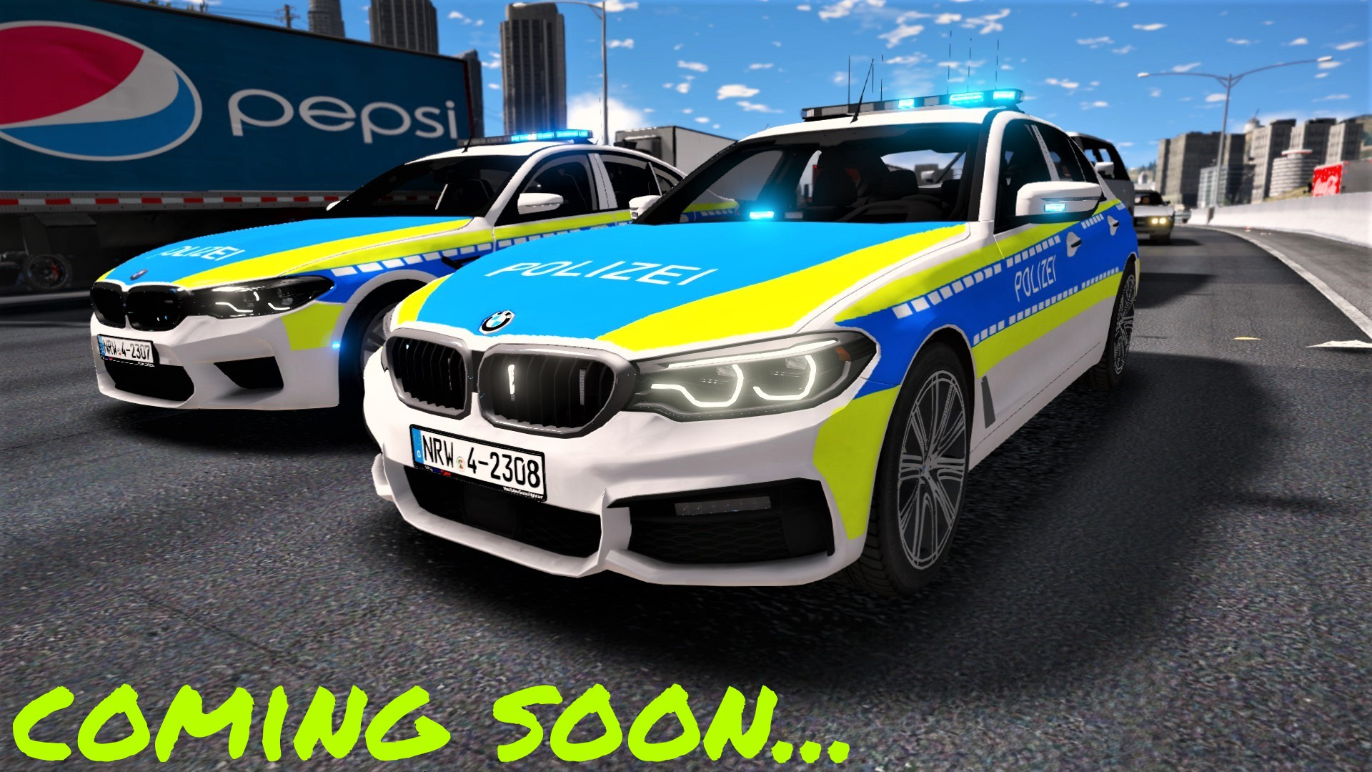2018 Bmw M5 F90 Polizei Hamburg Gta5 Mods Com