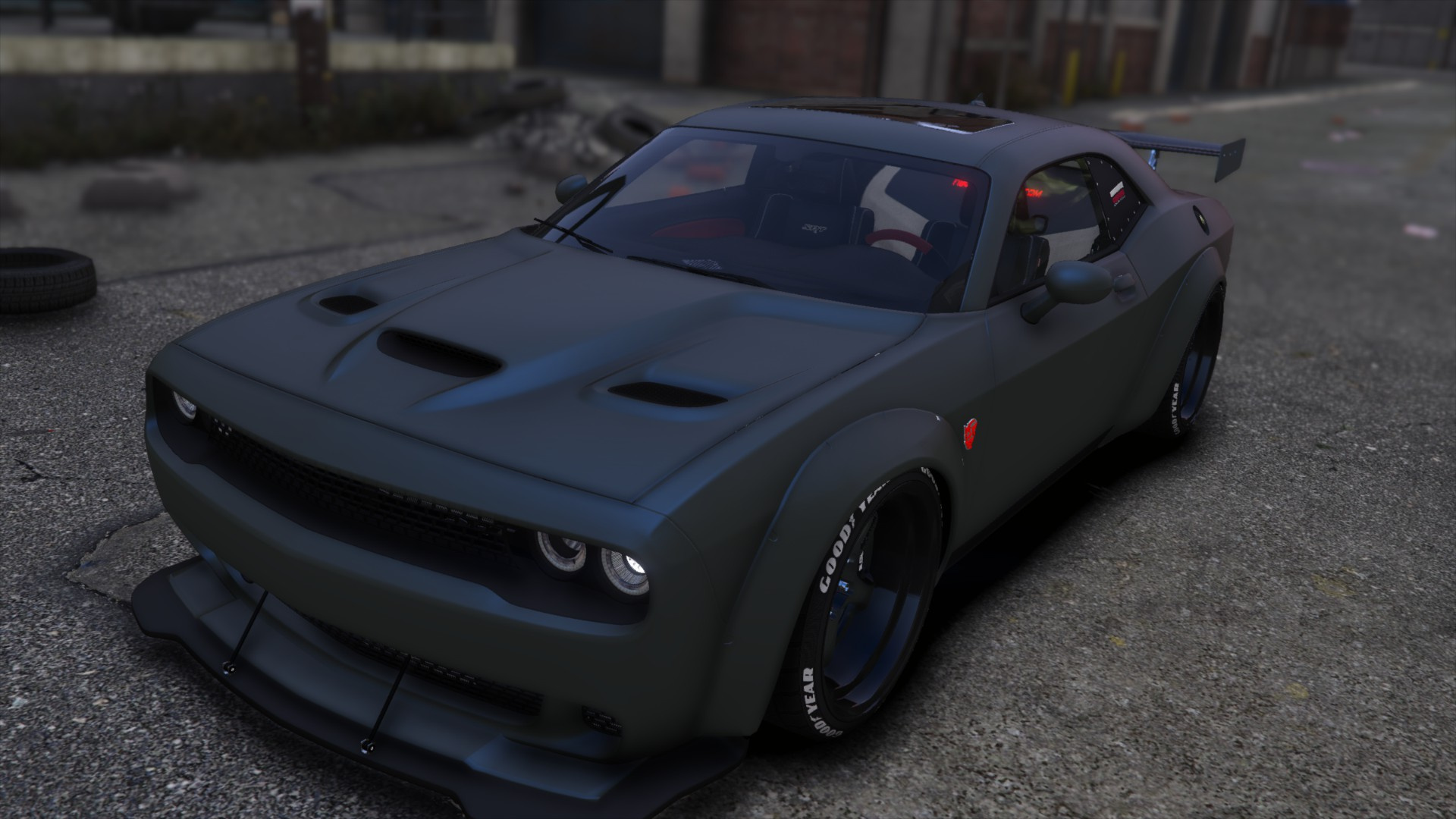 2018 Dodge Challenger SRT Demon [Add-On Extras] - GTA5 ...