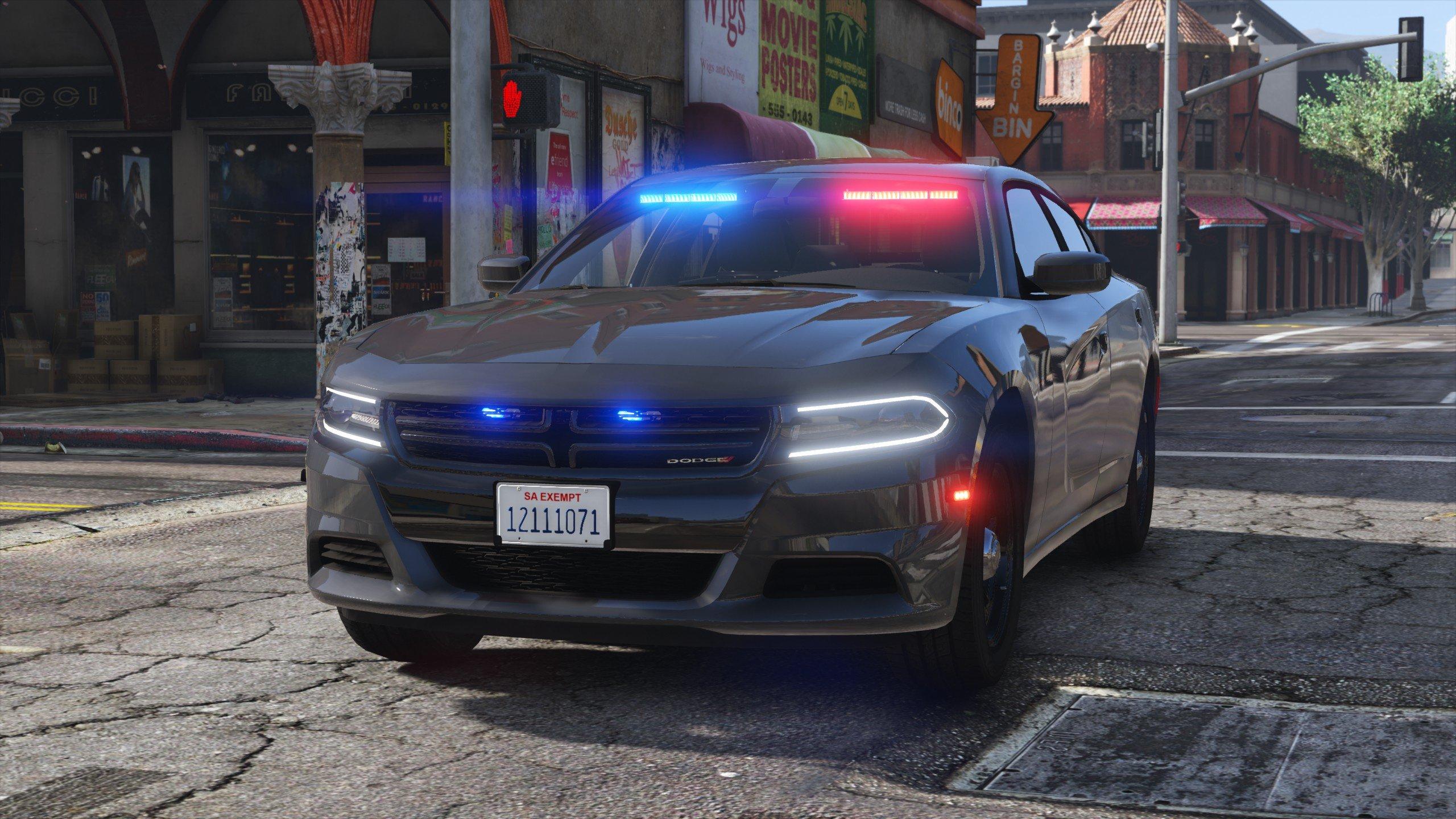 2018 Dodge Charger Los Santos Police Department Lspd