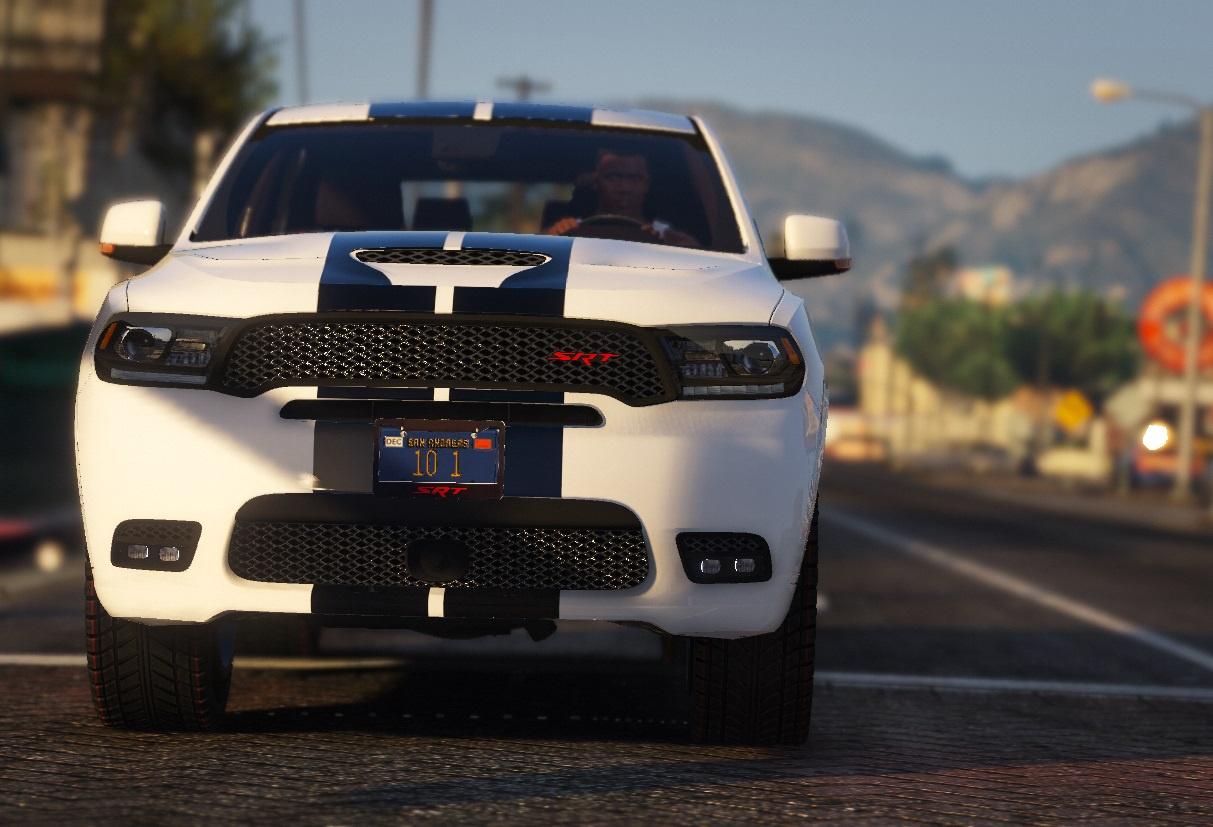 2018 Dodge Durango SRT HQ [Add-On\Replace] - GTA5-Mods.com