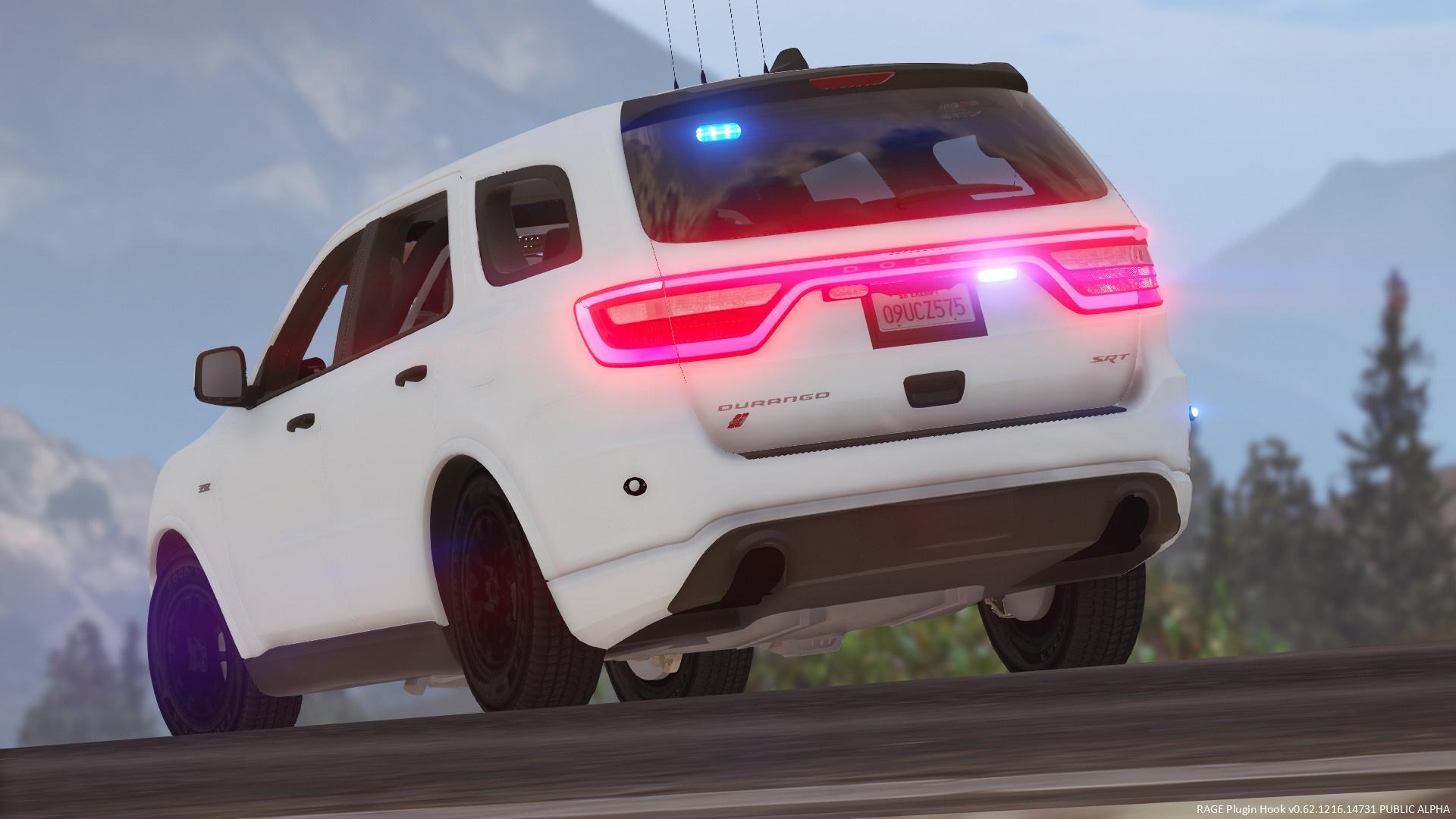 2018 Dodge Durango Srt Police Gta5 Mods Com