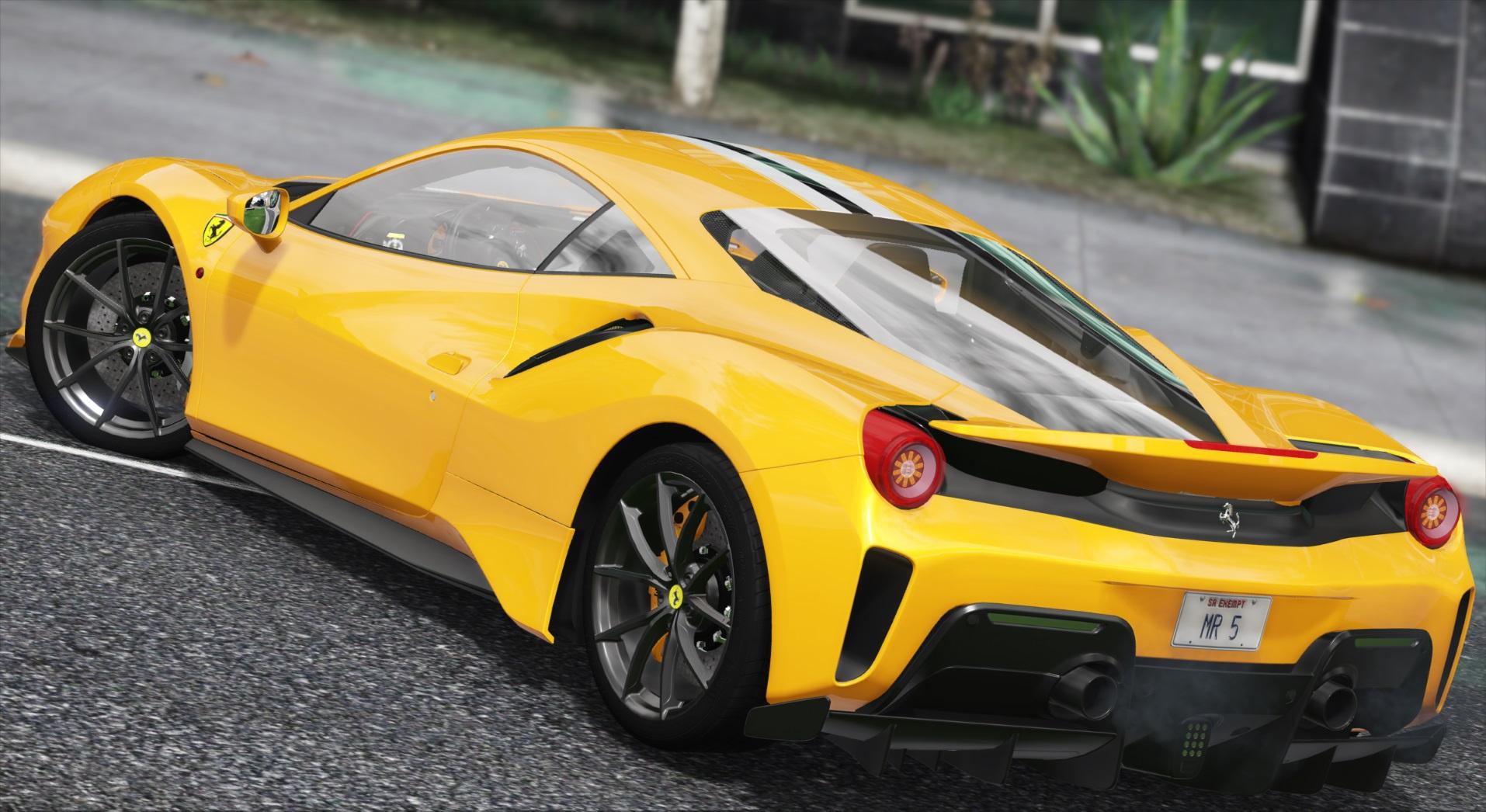 2019 Ferrari 488 Pista [Add-On/Template]