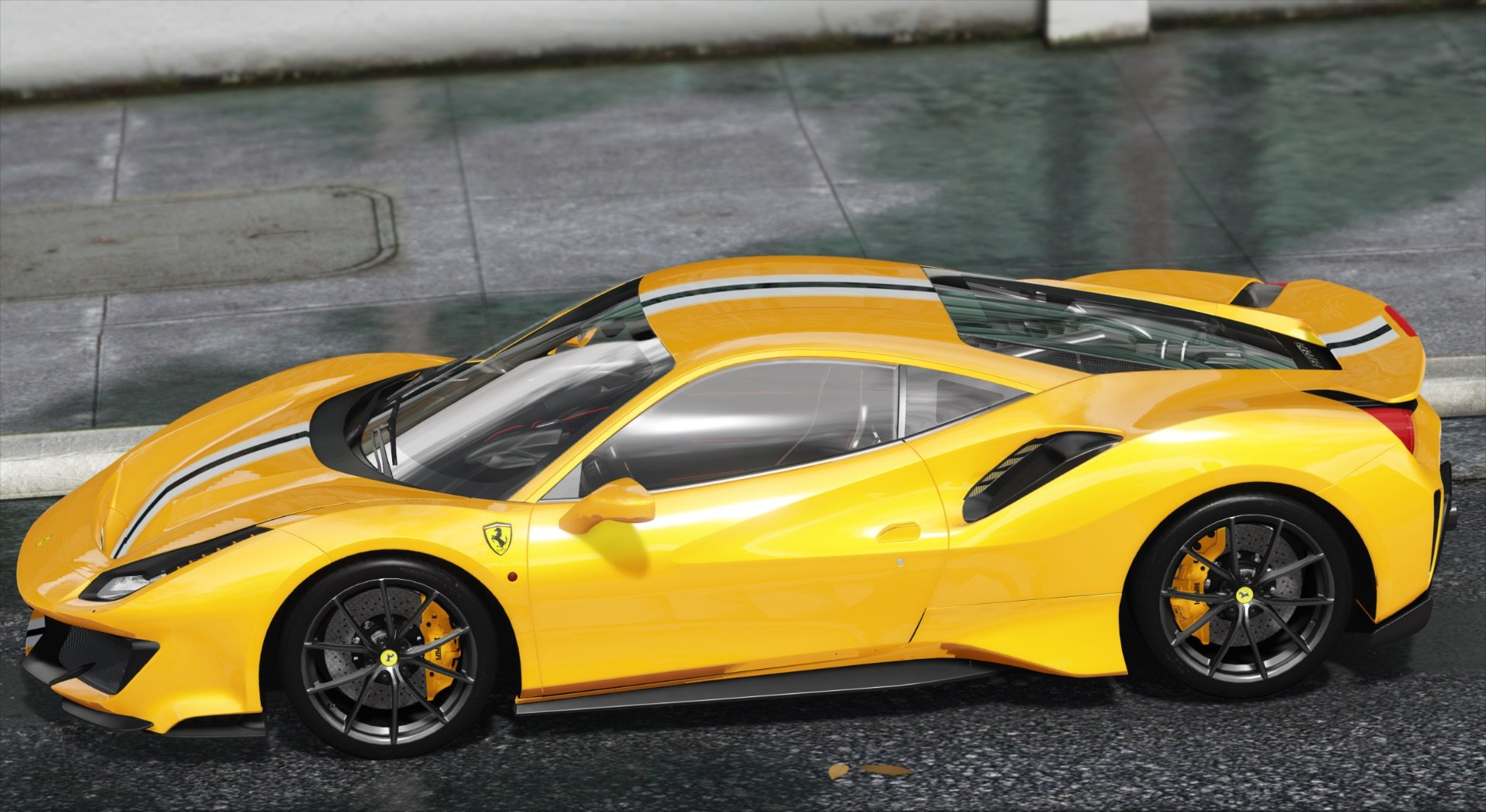 2019 Ferrari 488 Pista Add On Template Gta5 Mods Com
